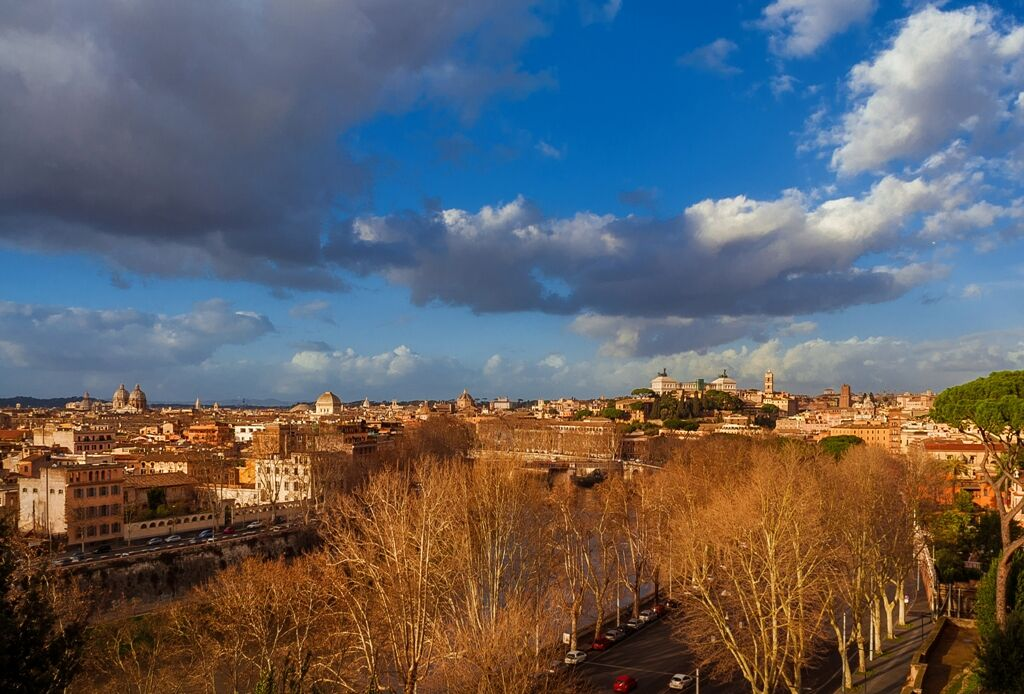 View from the Aventine...