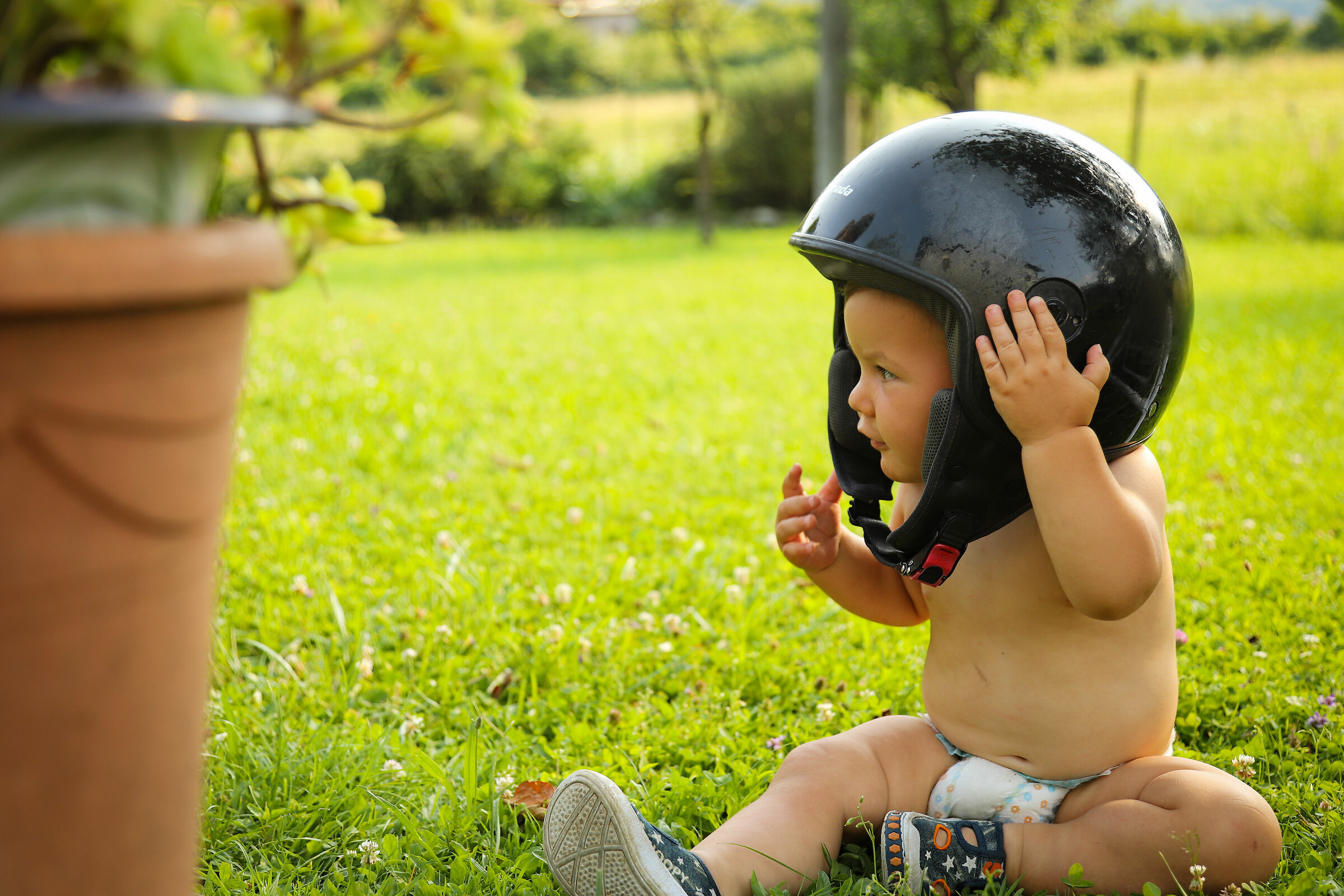 Da grande faro il motociclista...