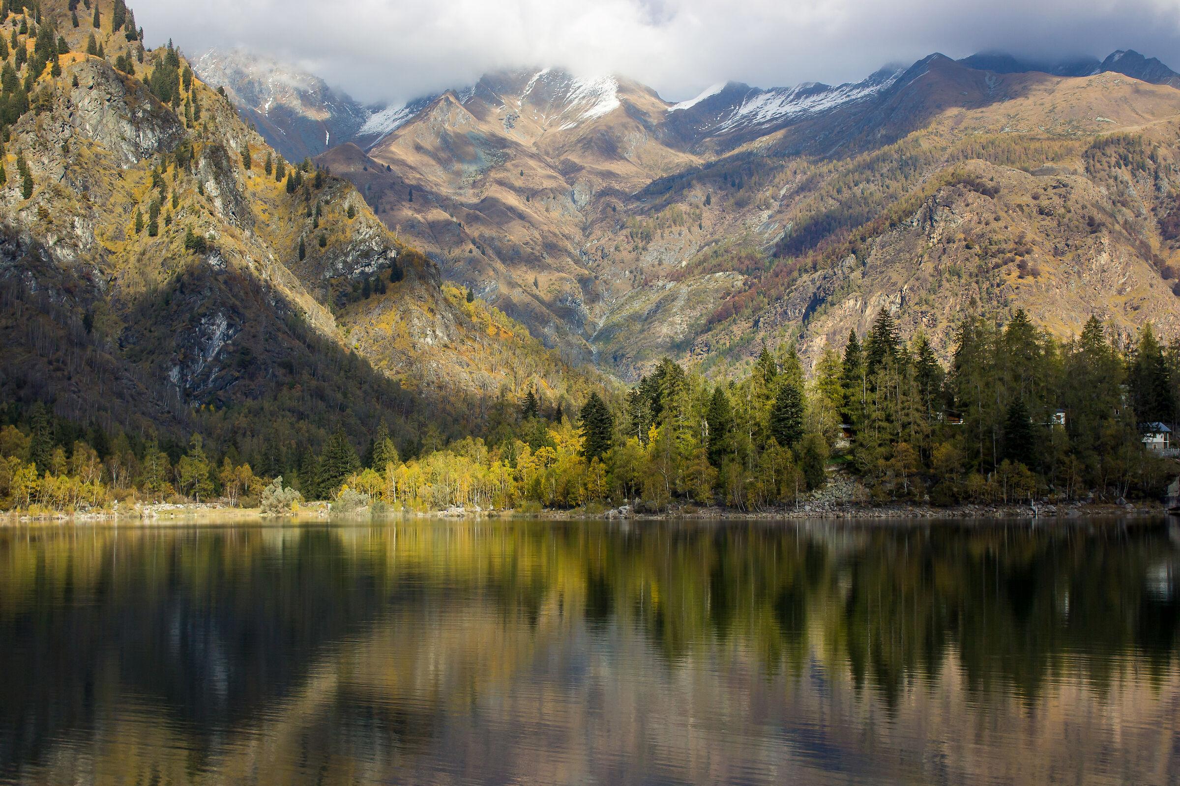 Lake Antrona....