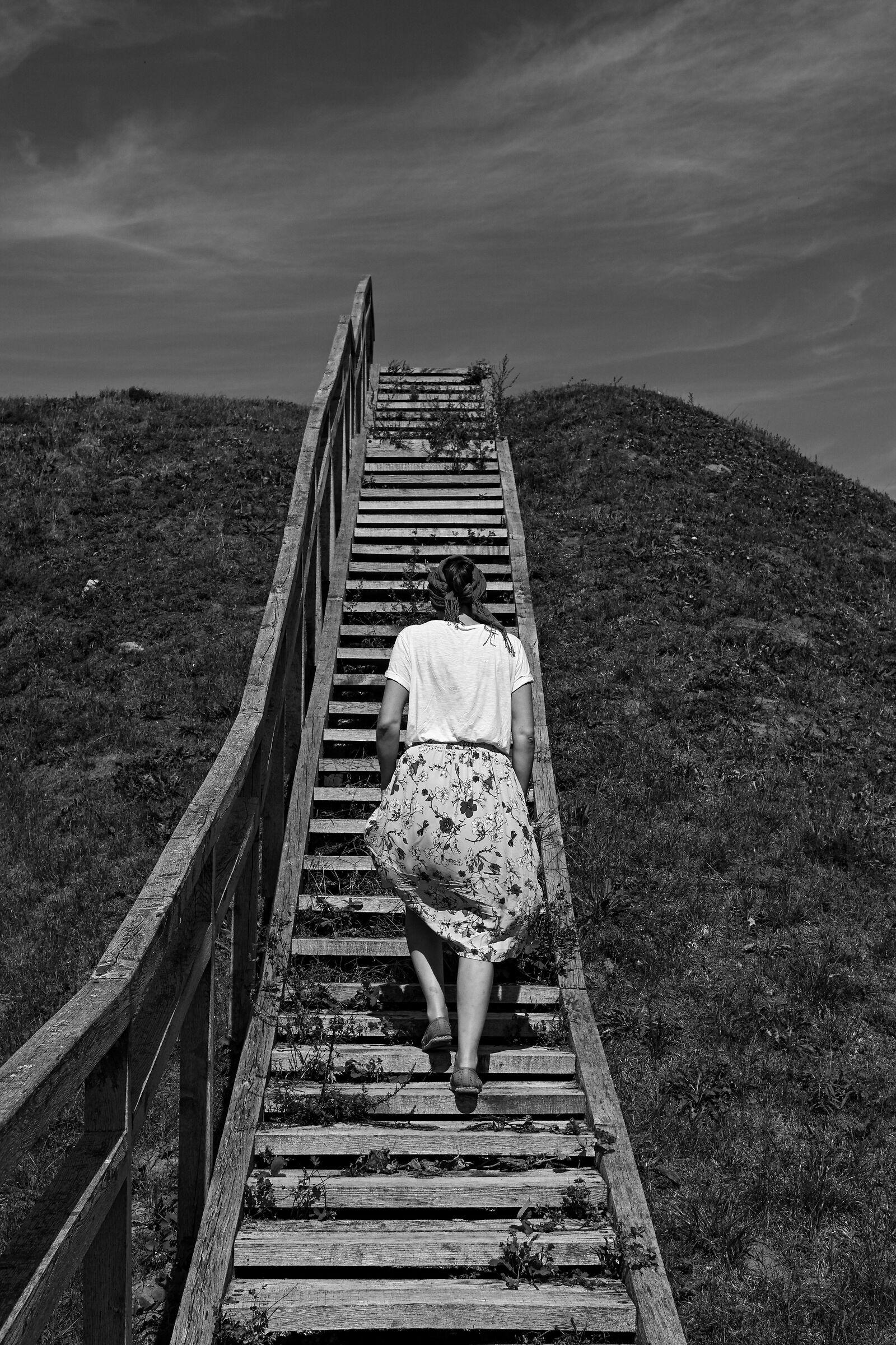 La scala verso il nulla...