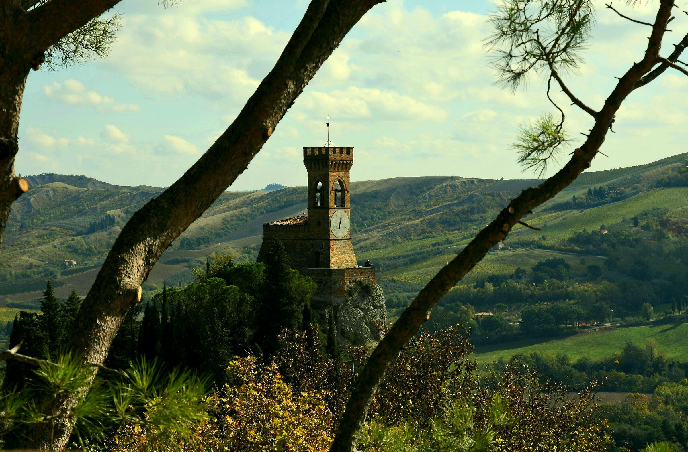 Briseghella clock tower...