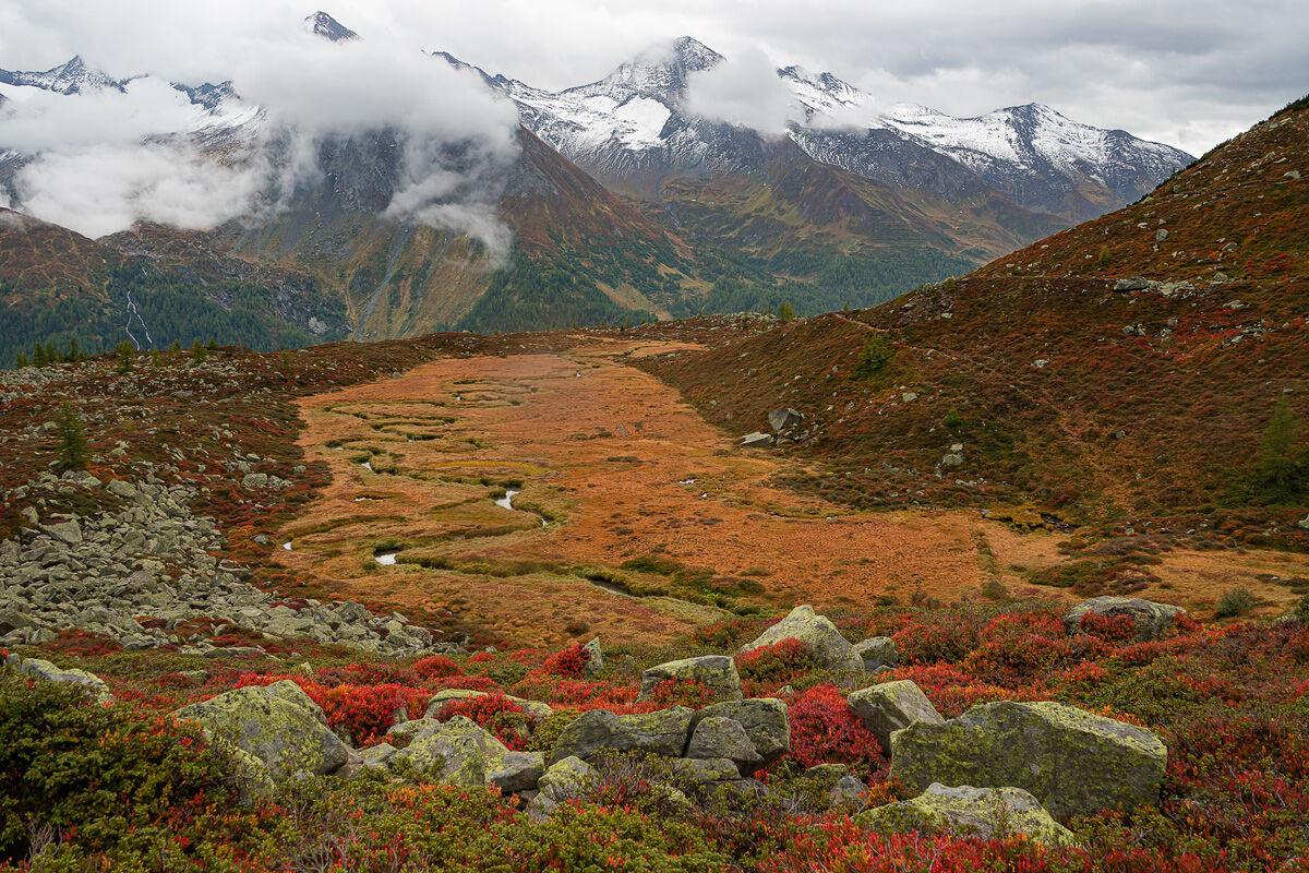 Casere, Ahrntal Valley, Autumn...