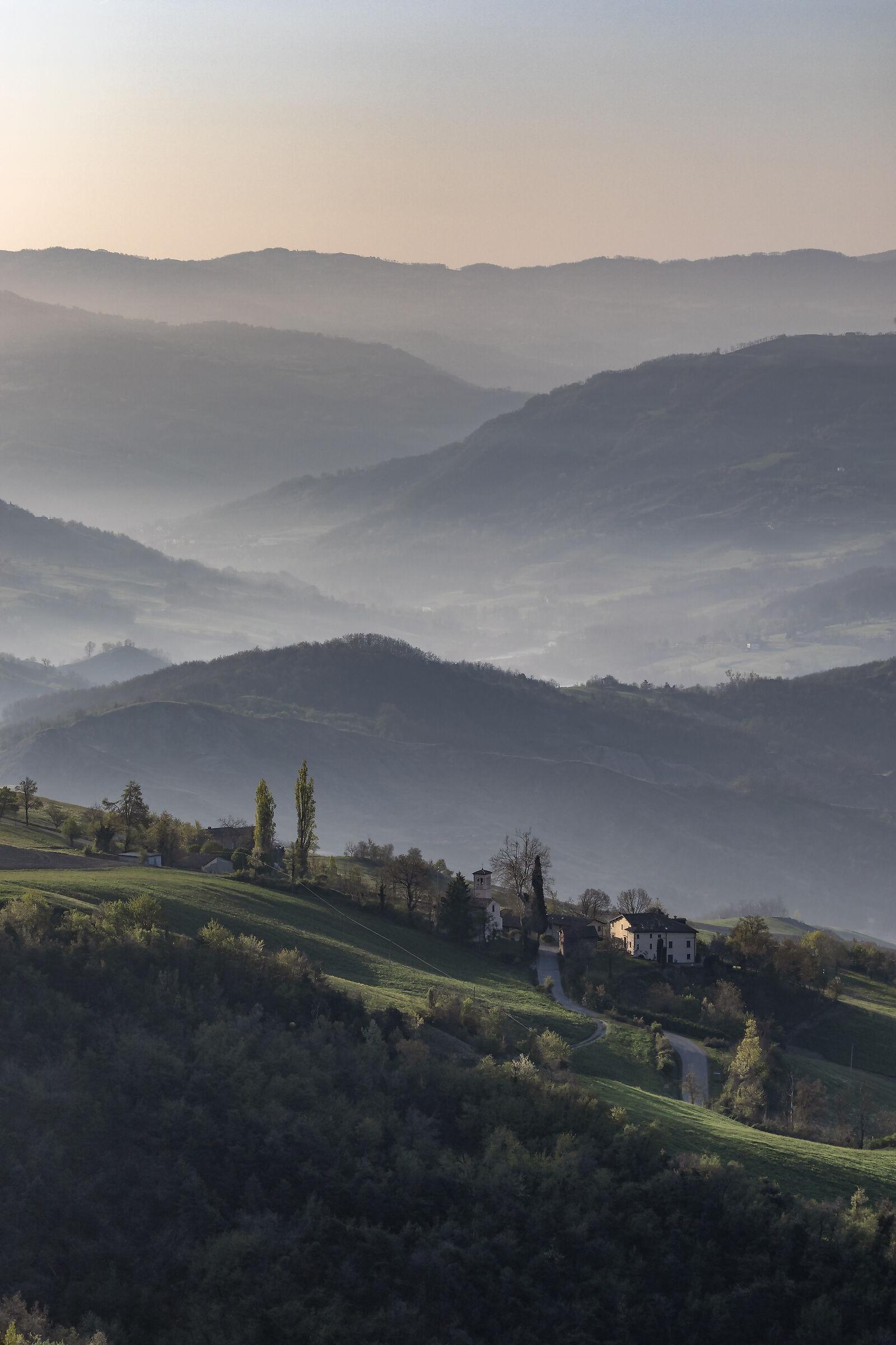 Sinuous hills - Reggio Apennines...