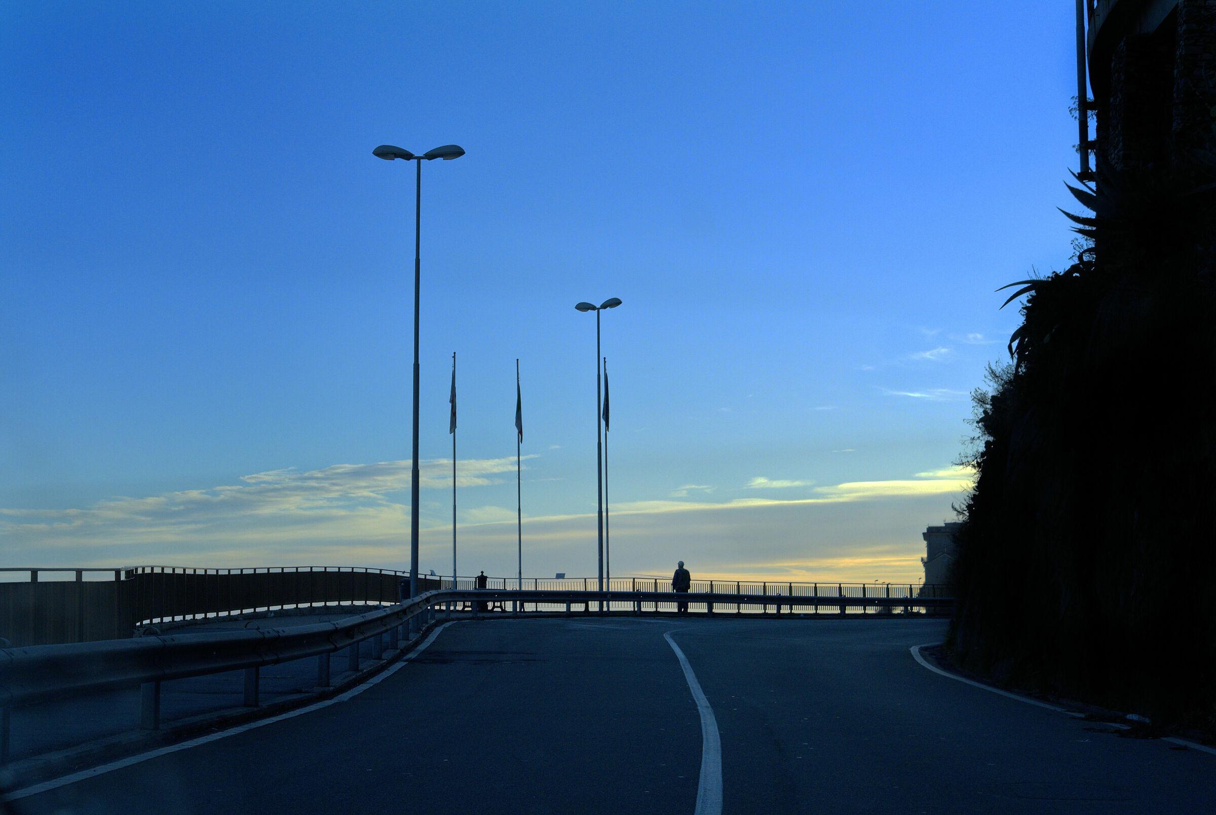 The Via Aurelia...