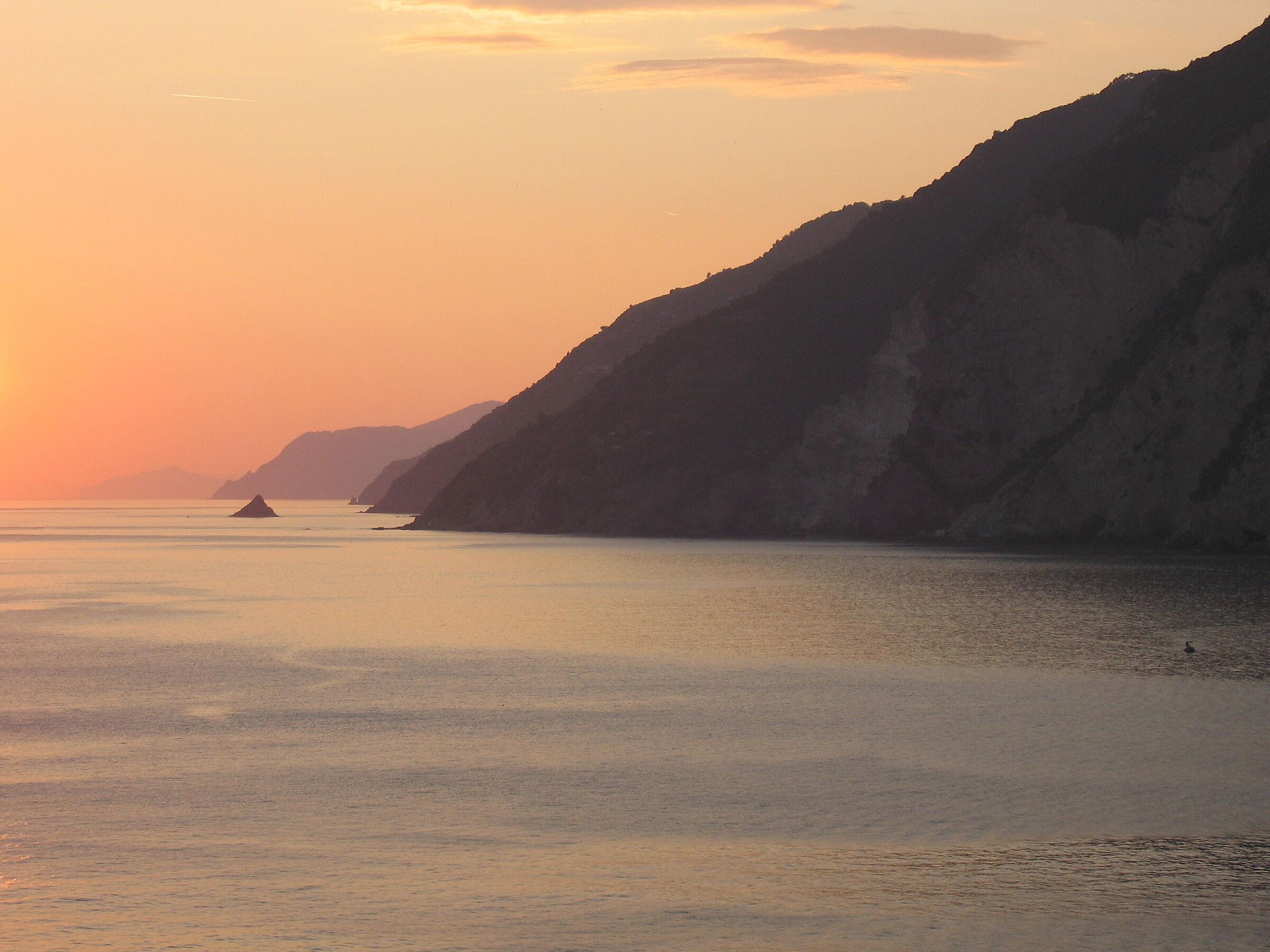 Sunset in Portovenere...