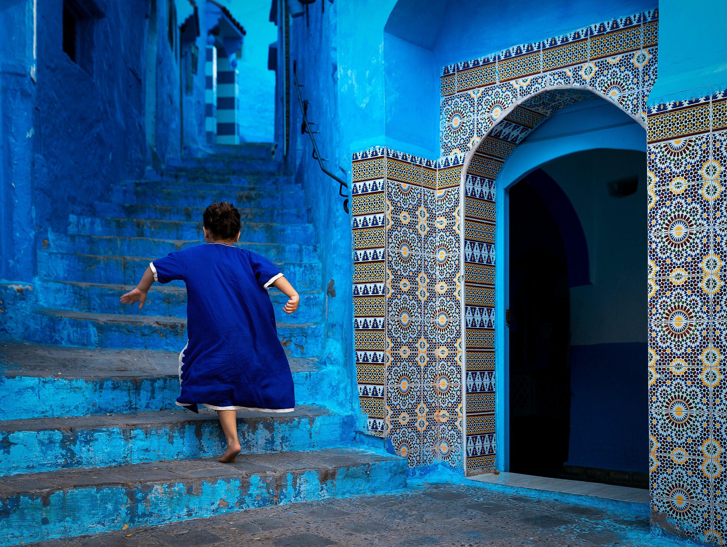 Blue run...