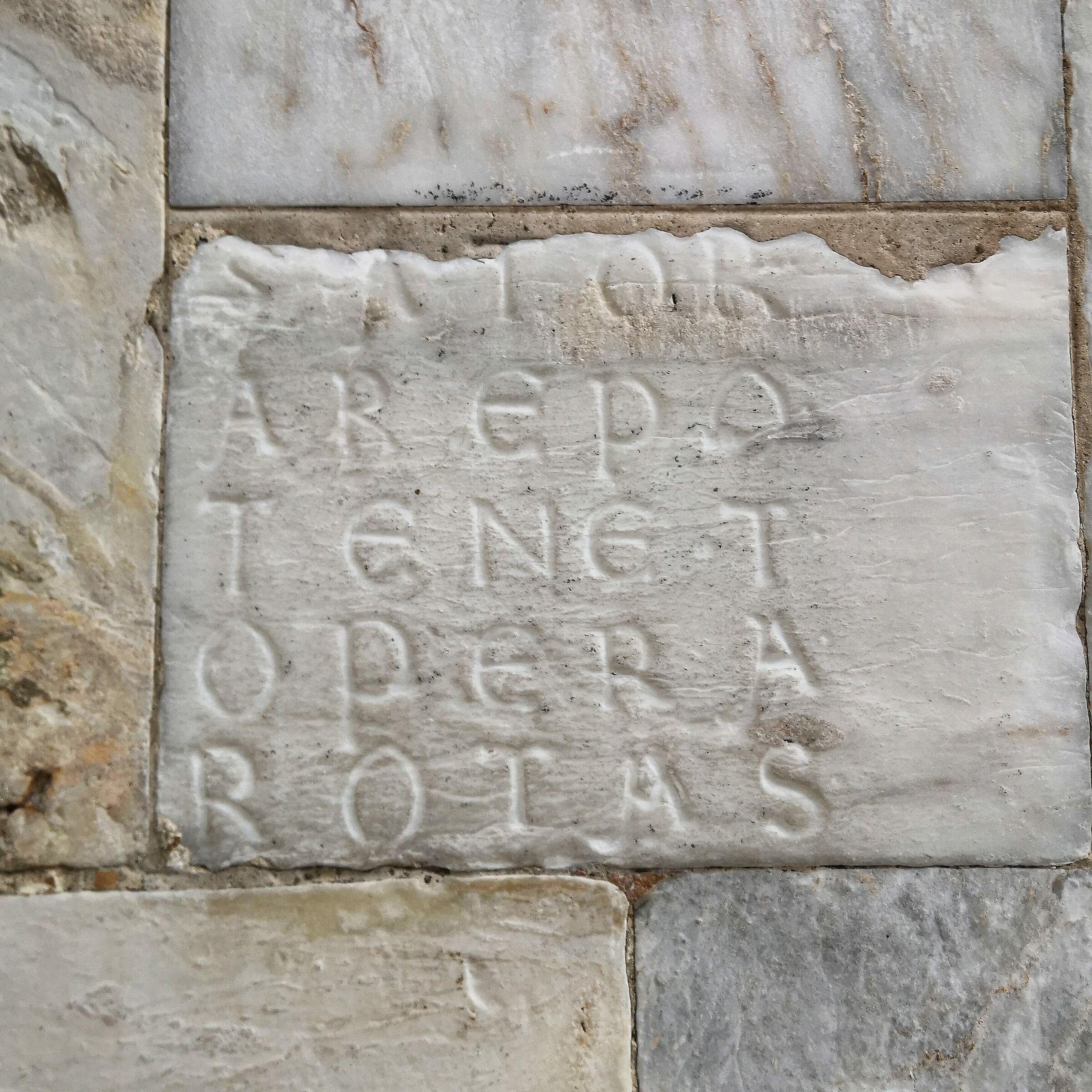 Quadrato del Sator...