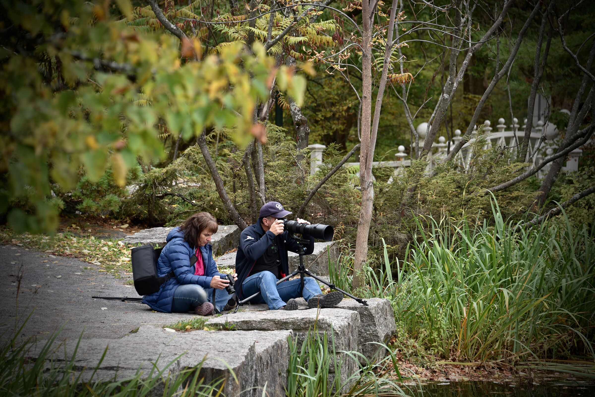 Take pictures in a magical setting..Quebec City...