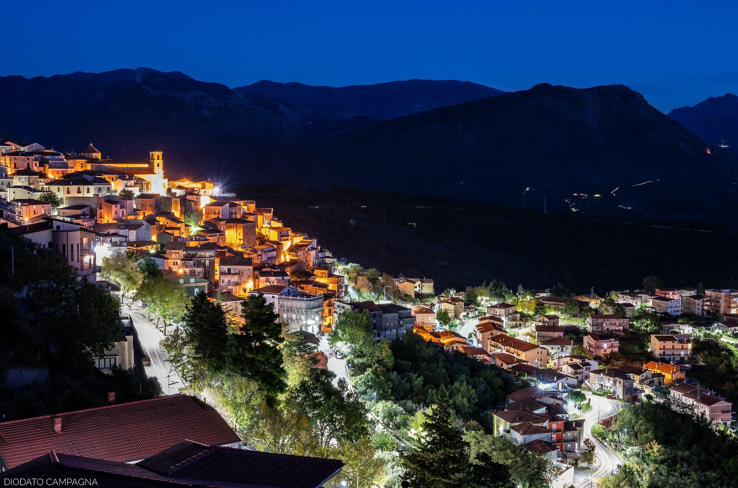 The Blue Hour at Santa Domenica Talao...