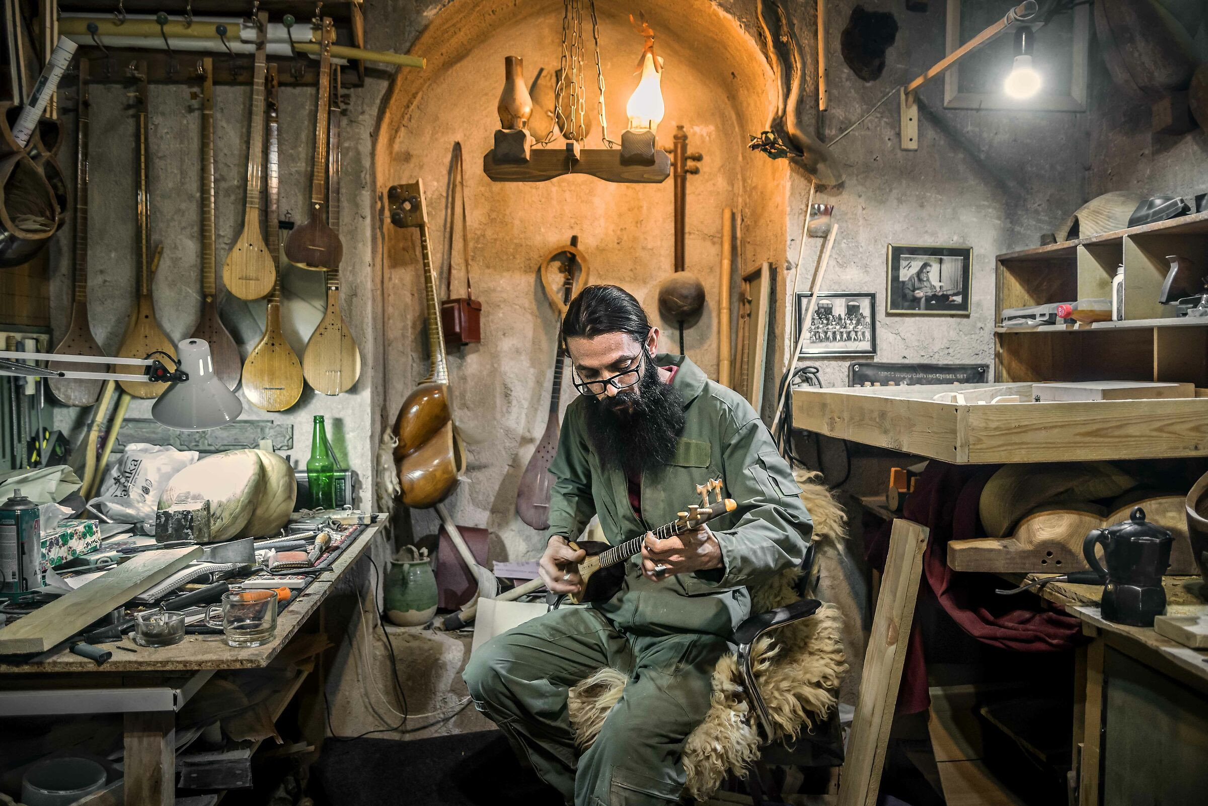 The Young Luthier...