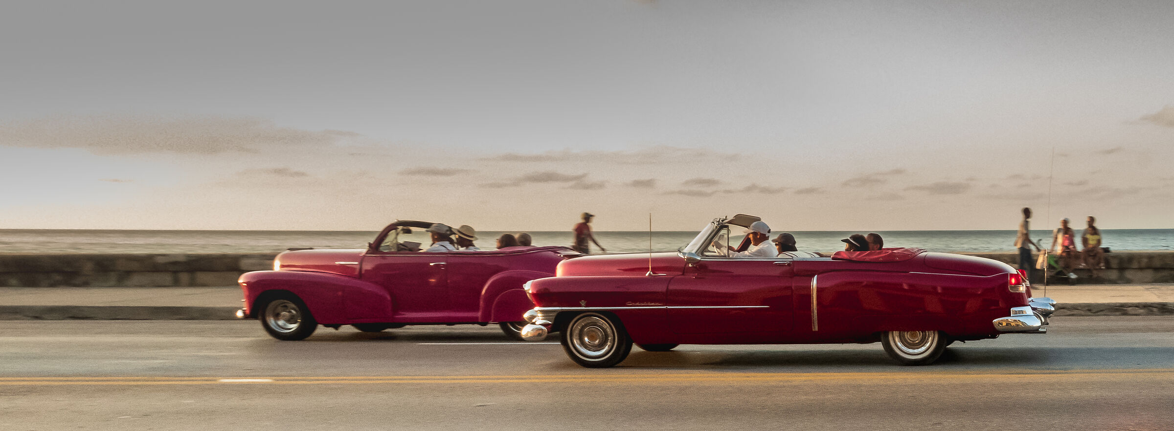 Race on the Malecon...
