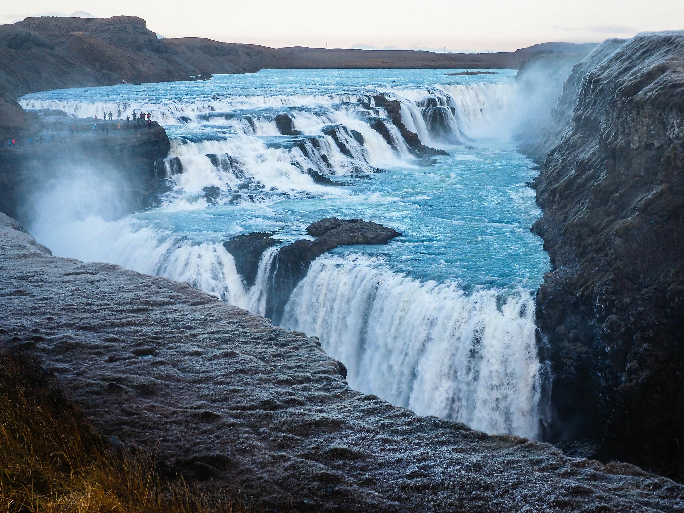 Icelandic cold...