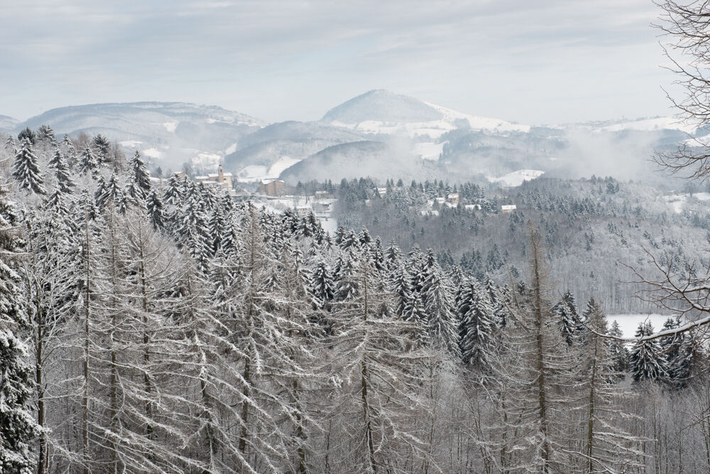 Lessini Mountains...