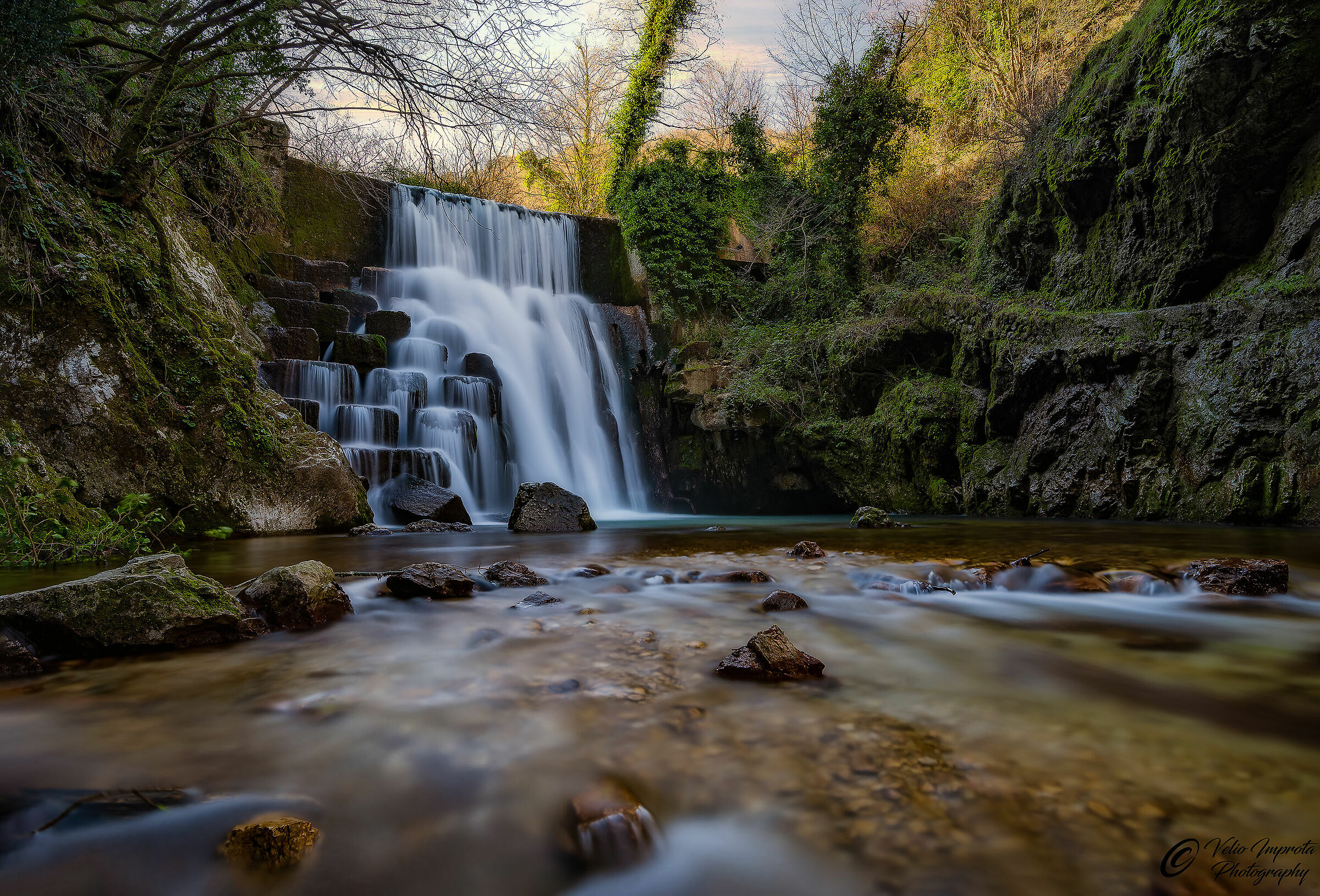 The Madonella Waterfall...