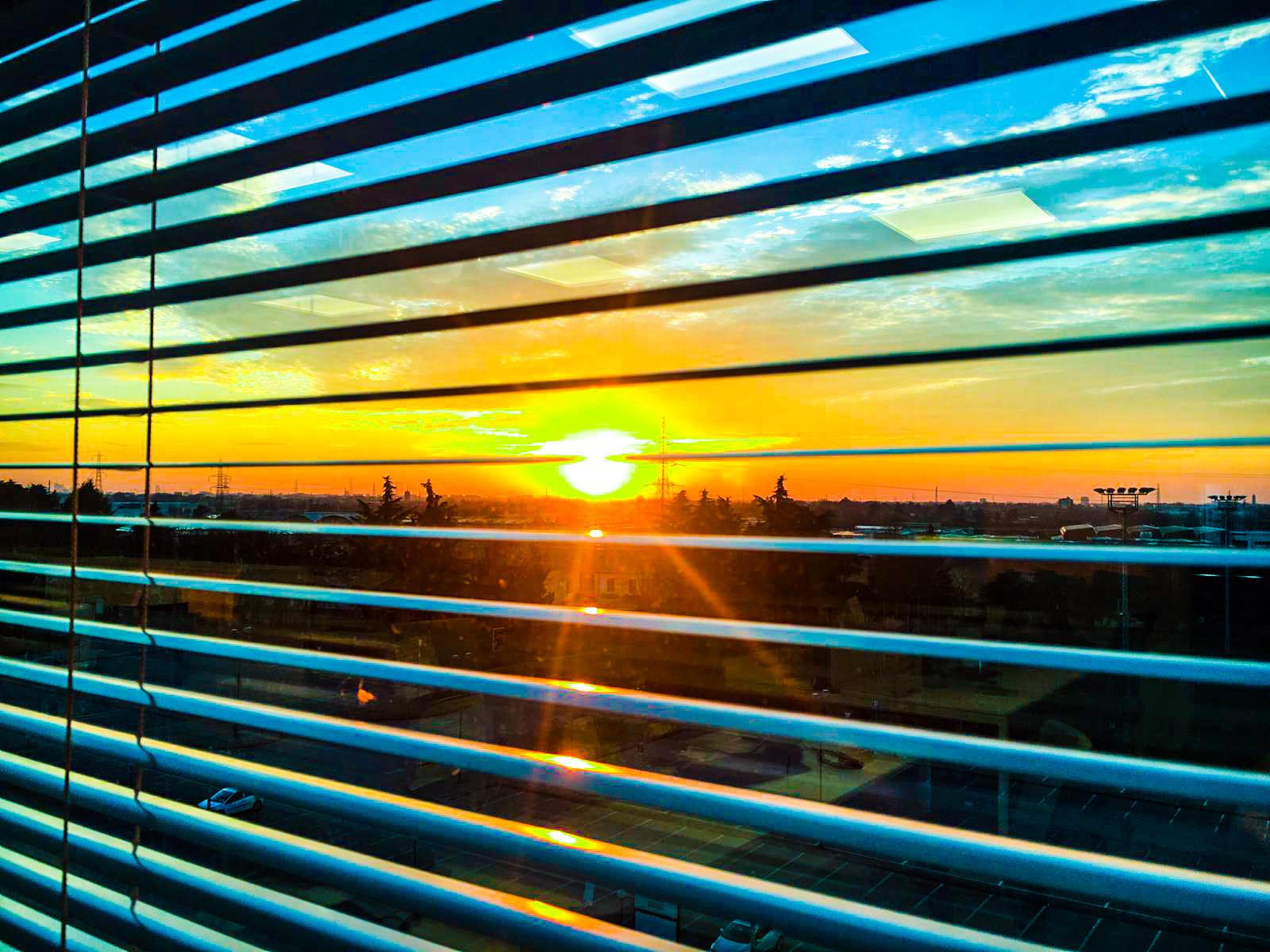 Sunset Brianzolo... Neon......