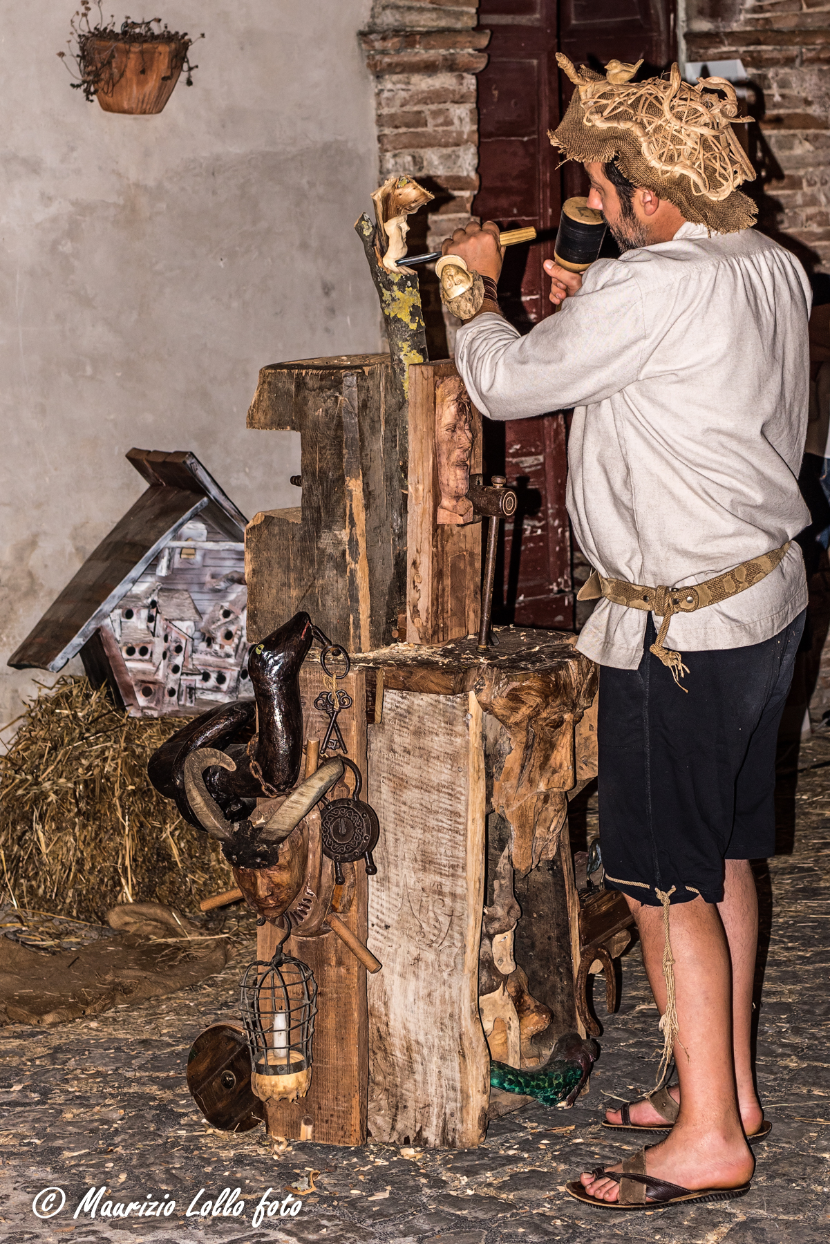Medieval artisan Marches...