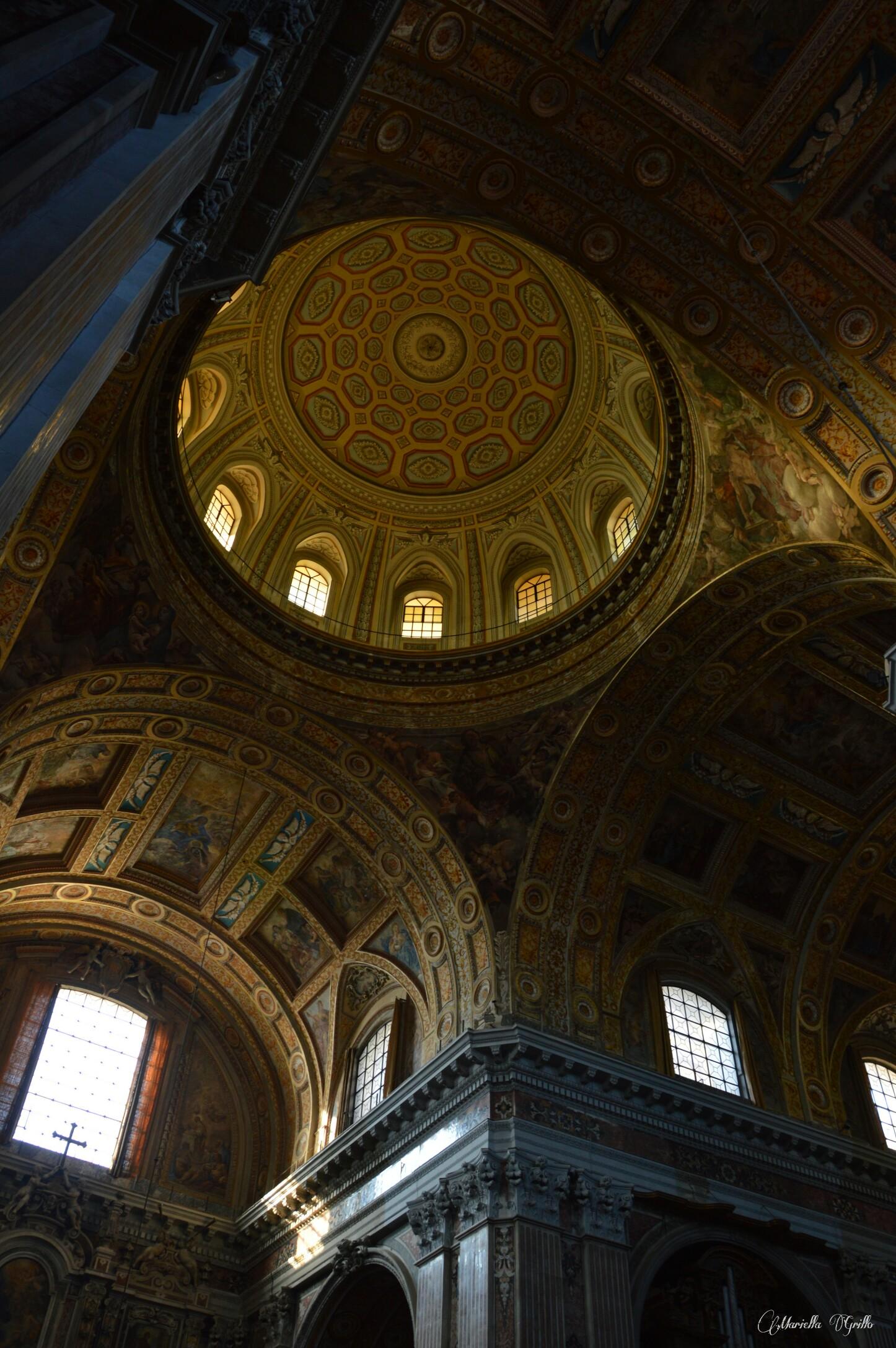 Naples. Church of the new Jesus...