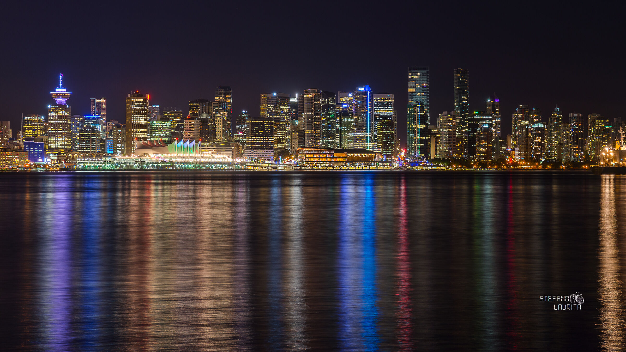 Vancouver Skyline from Stanley Park...