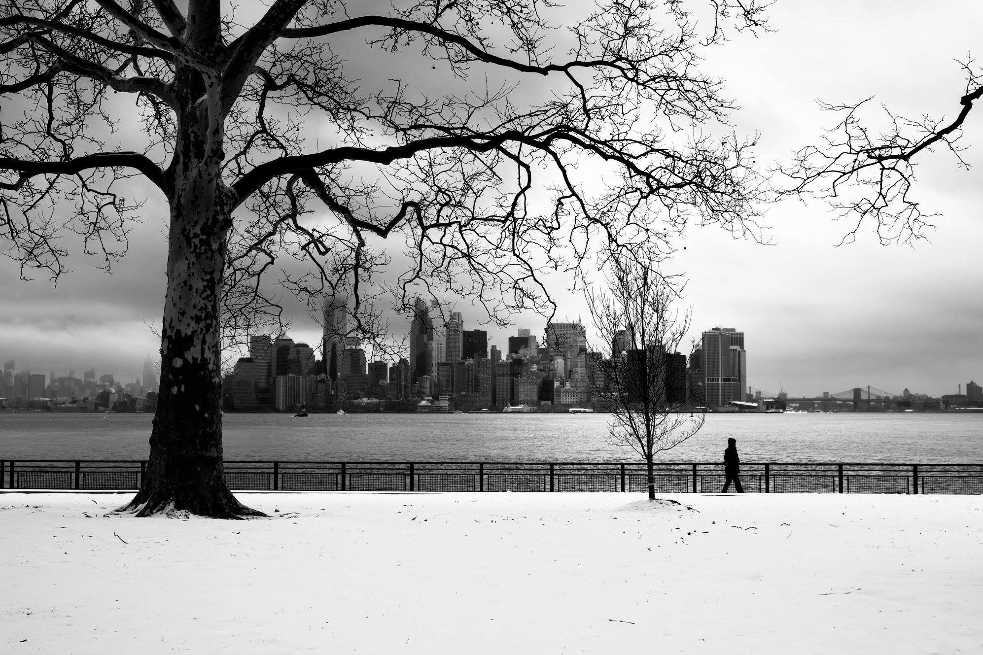 Winter in New York...