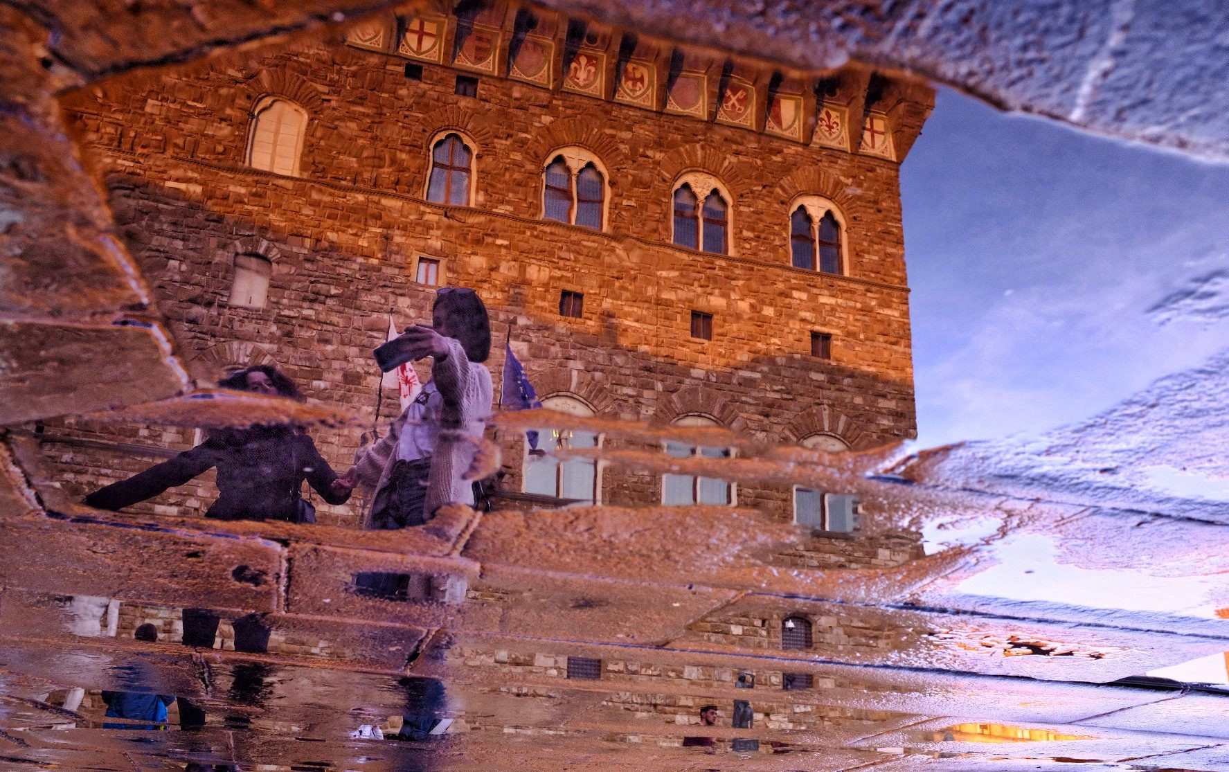 Selfie in Signorìa ...