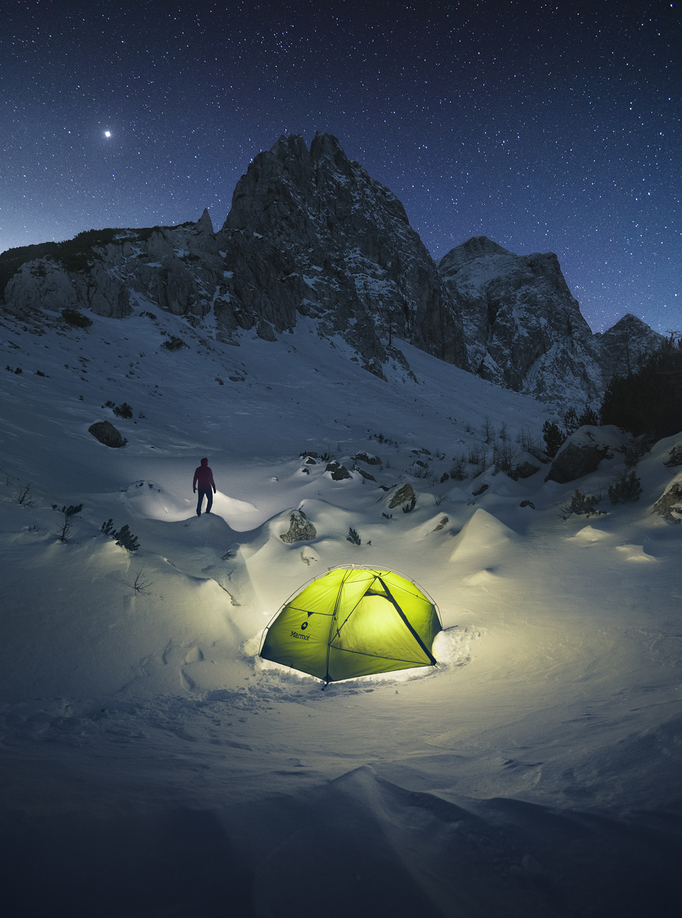 Winter Camping...