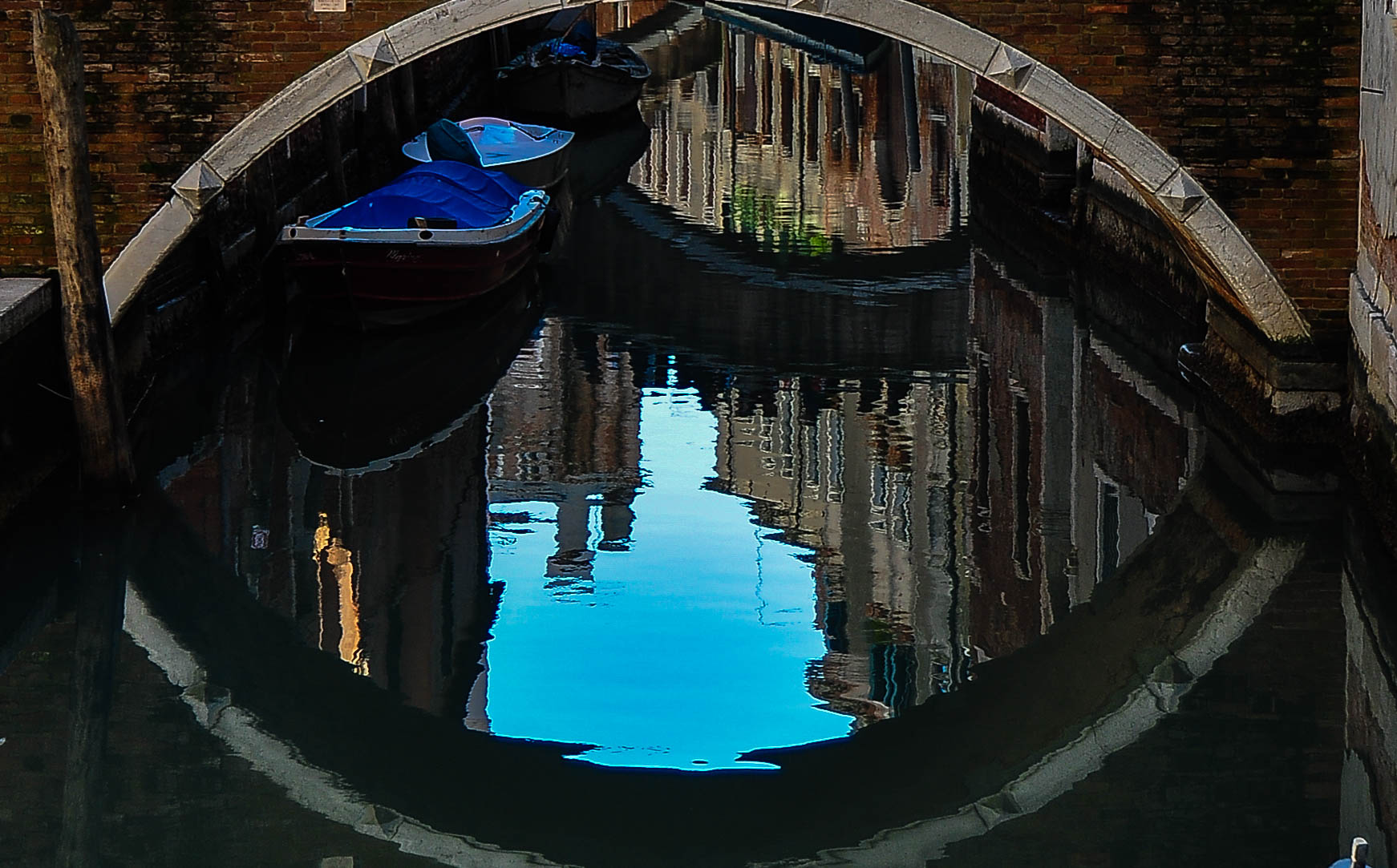 Reflecting in the canals of Venice......
