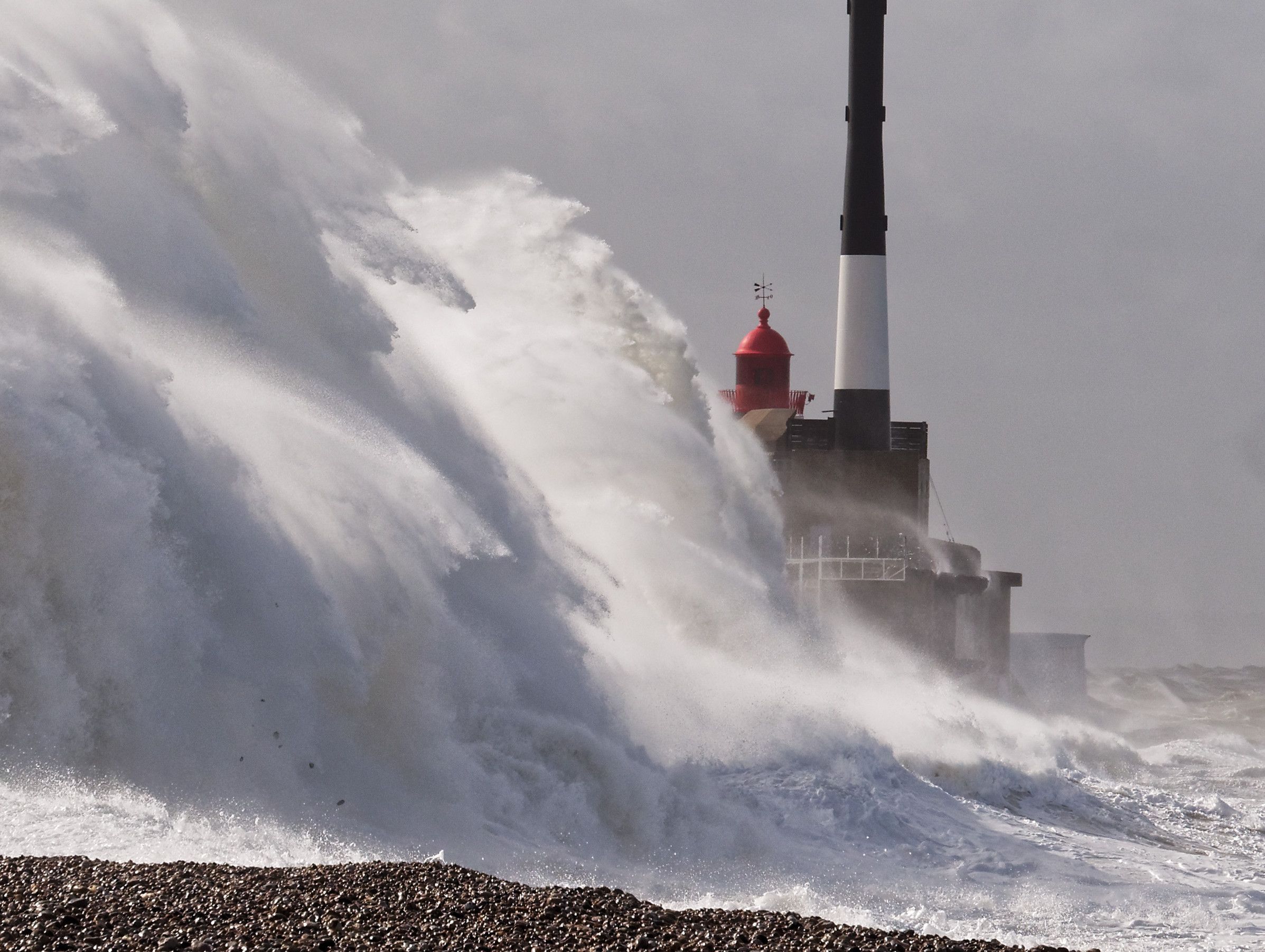 Storm in Le Havre...