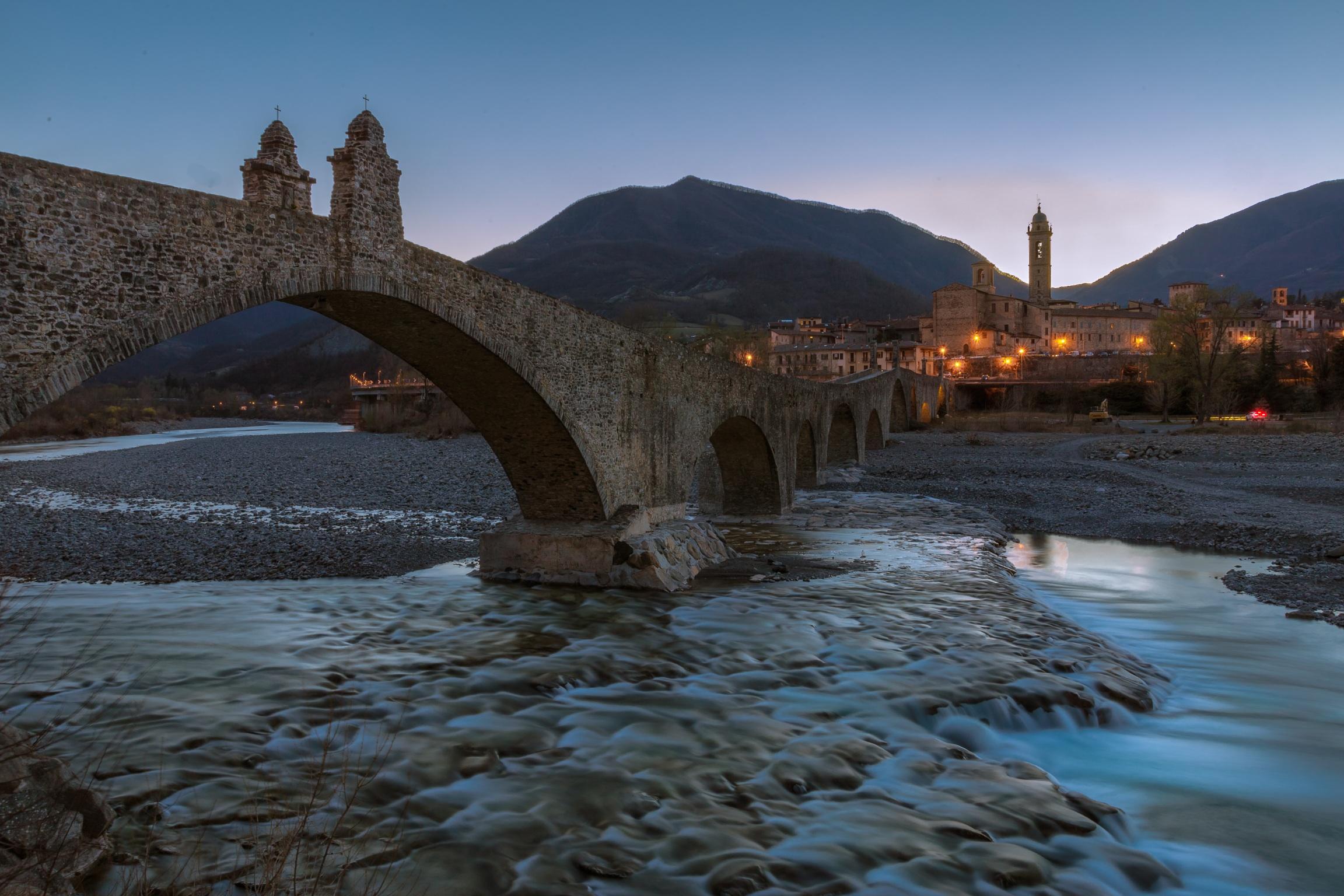 Bobbio is his bridge ...
