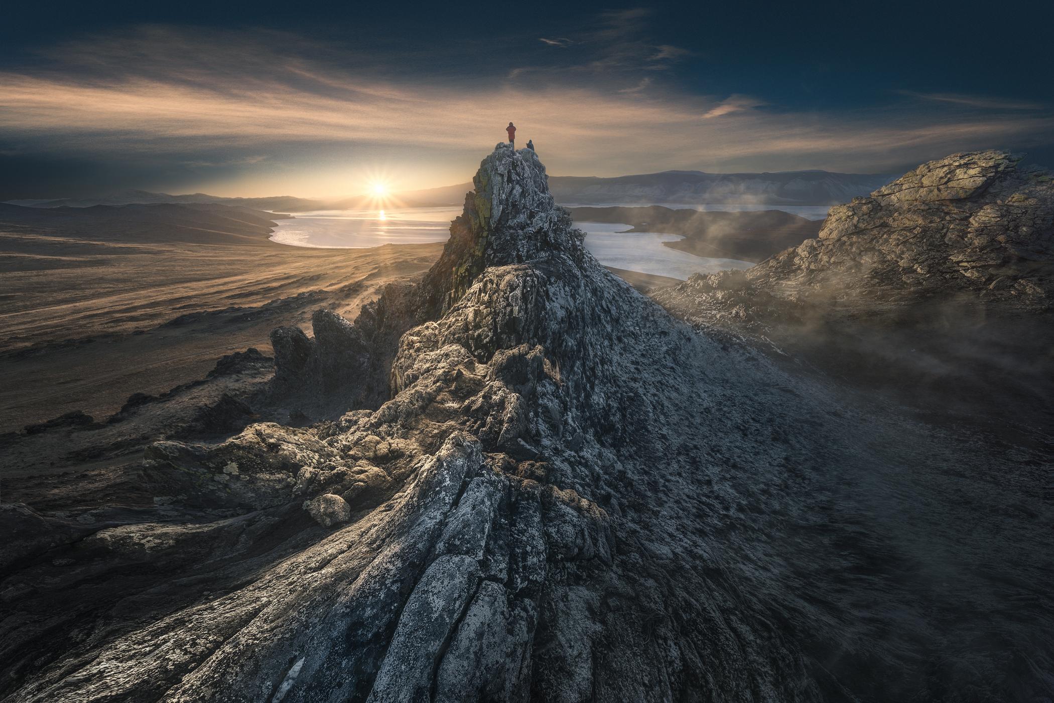 Sunset at Bajkal...