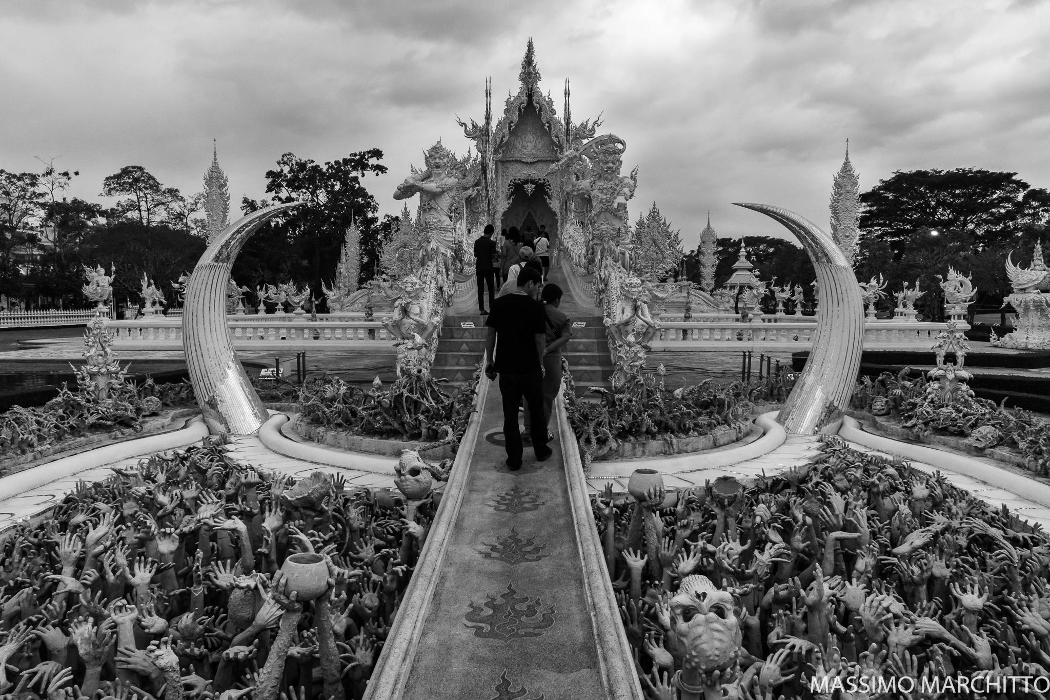 White Temple, Chiang Rai Province, Thailand...