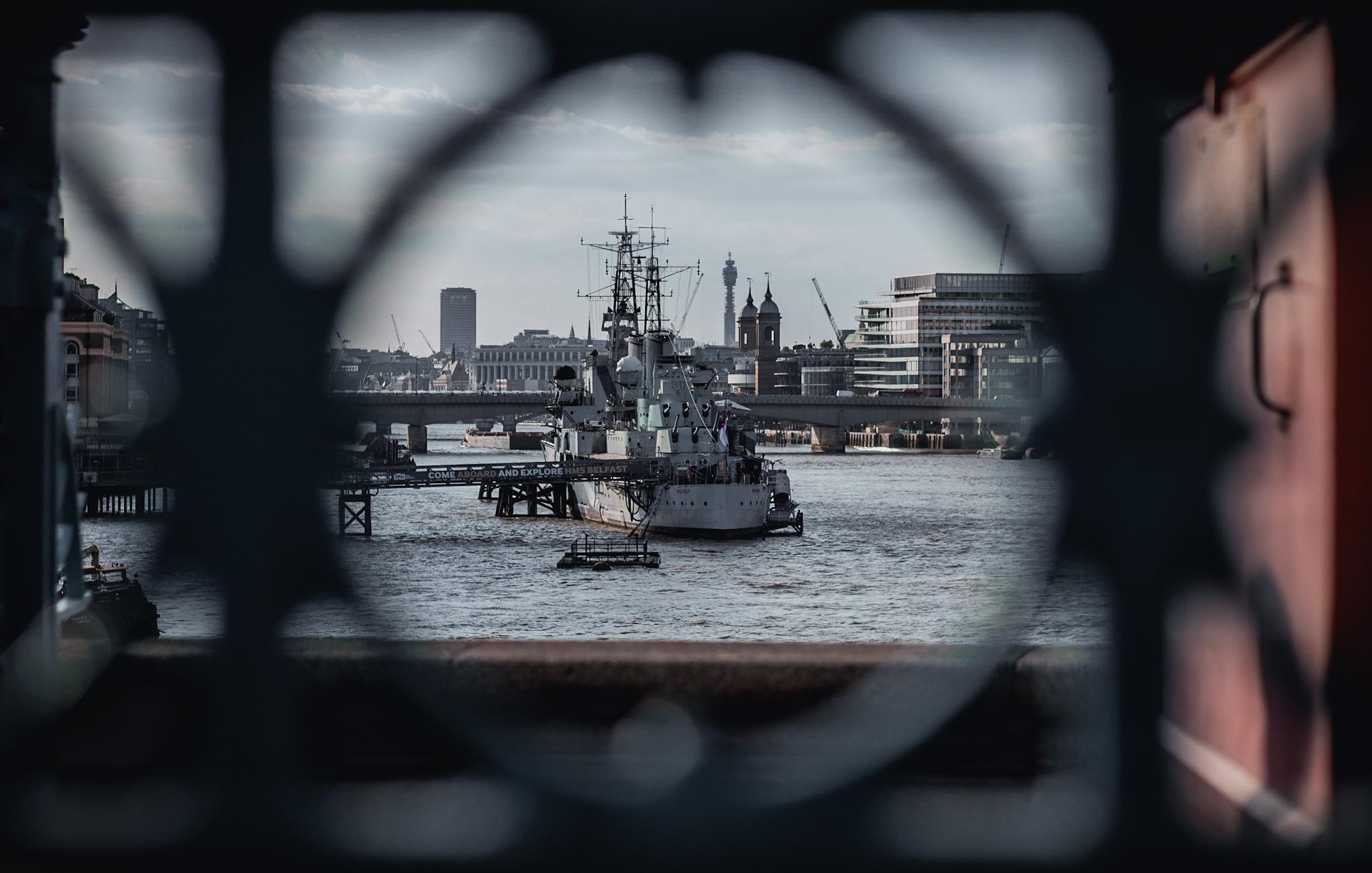 HMS Belfast...