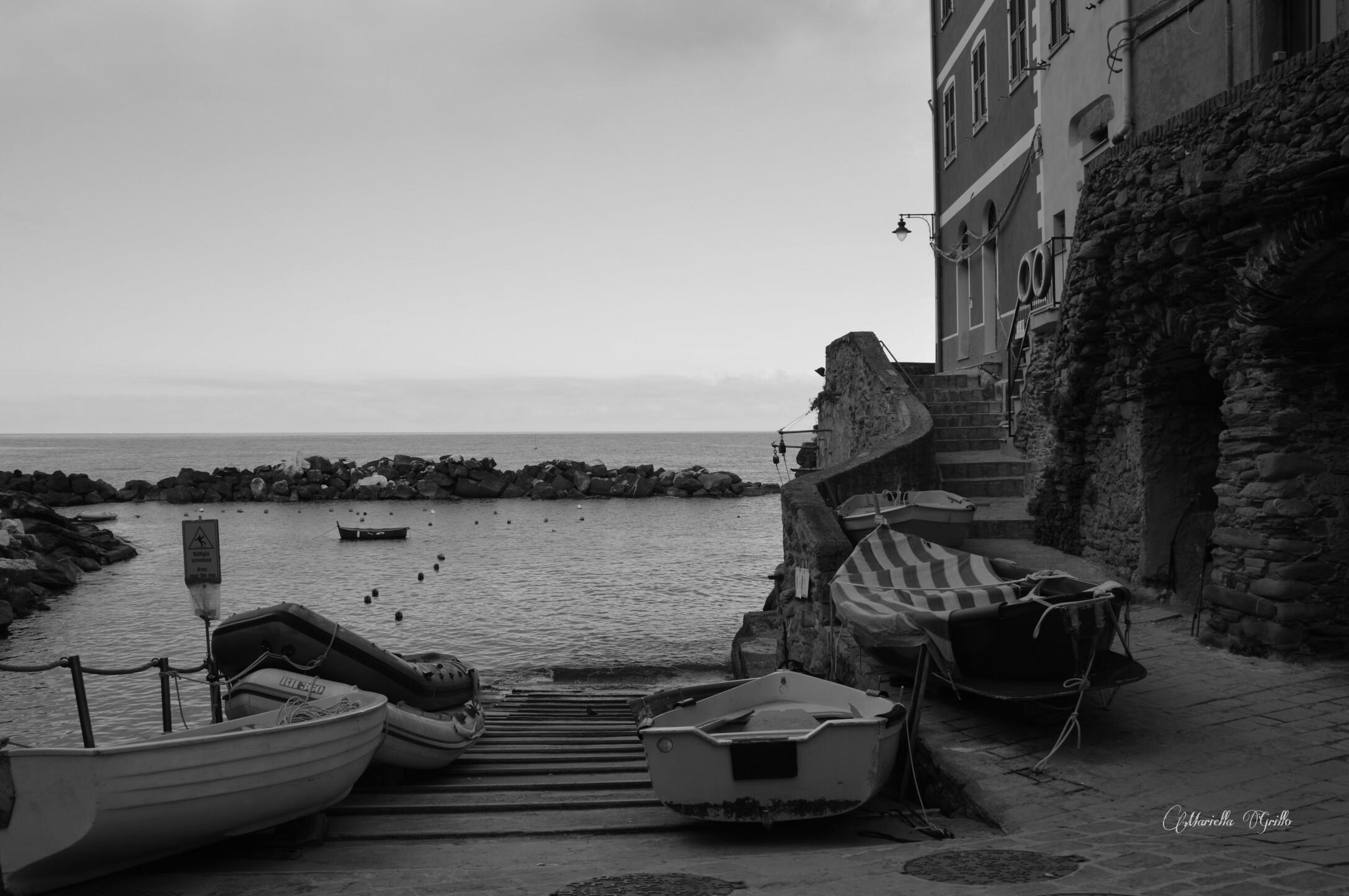 Liguria. Riomaggiore ...