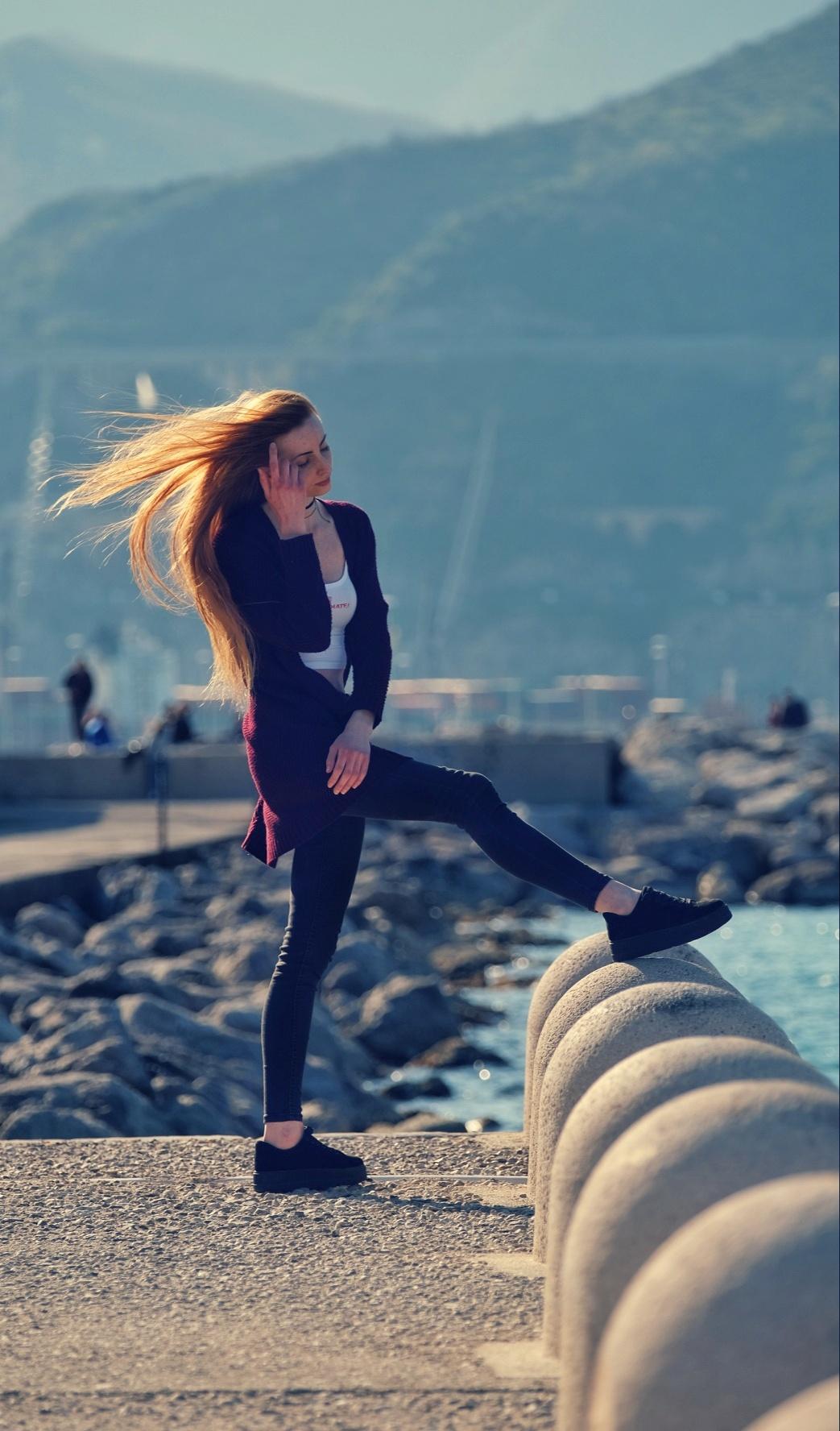 Girl in Salerno...