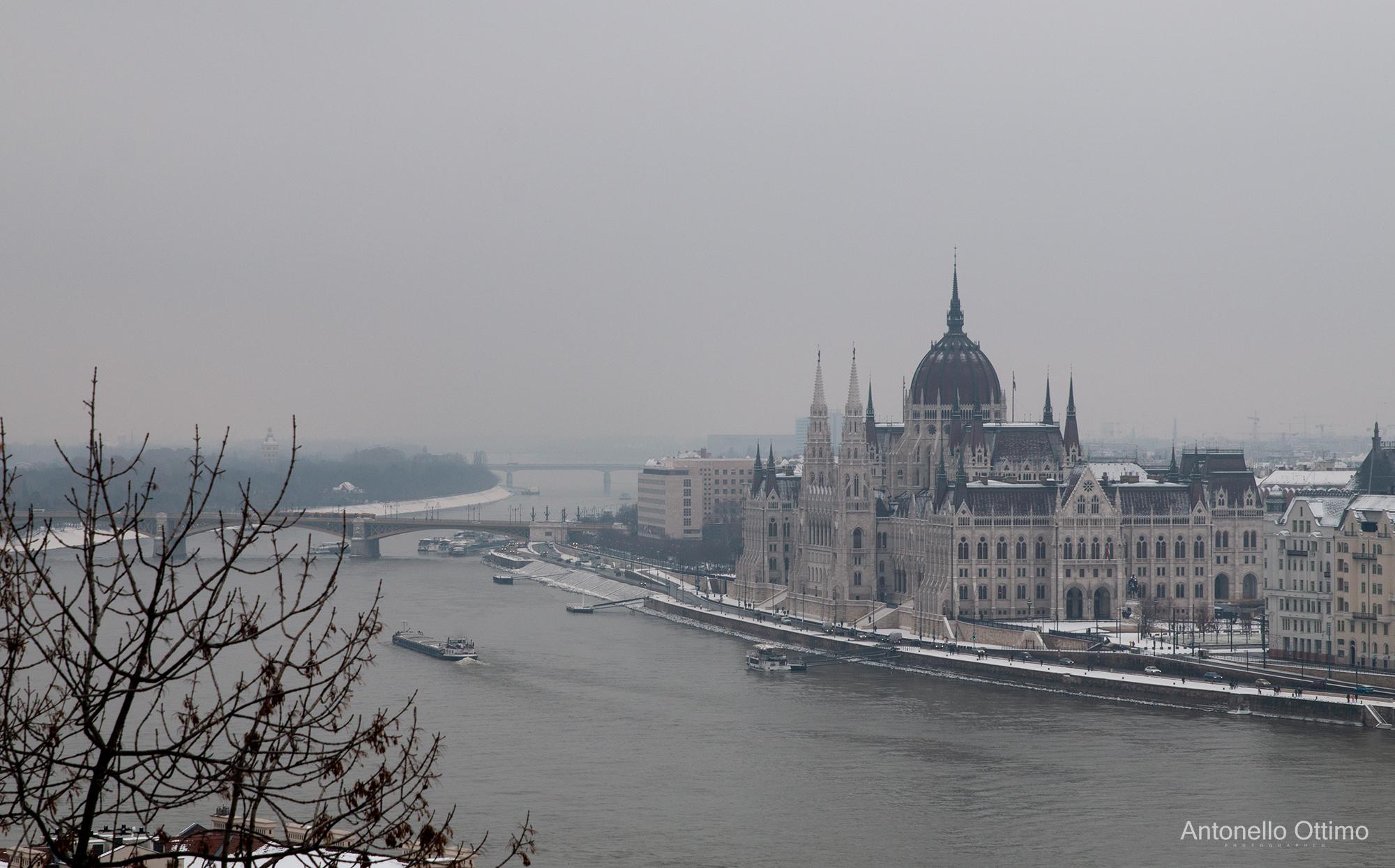 Parlamento di Budapest...