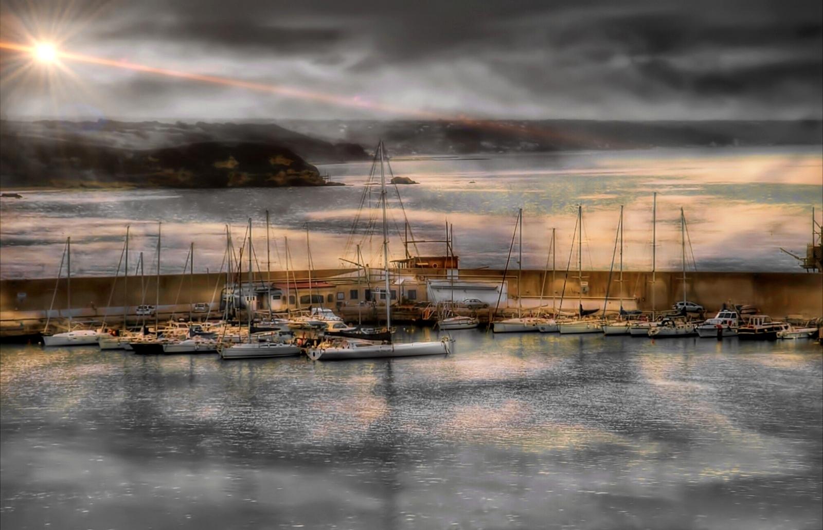 Port of Vasto (Chieti)...