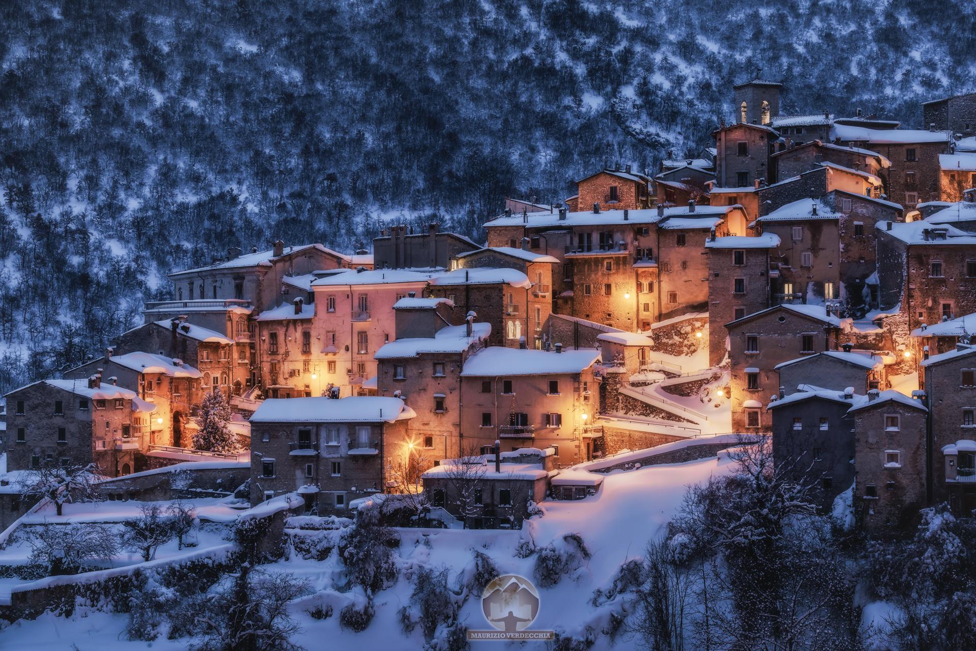 Scanno - La Grande nevicata...