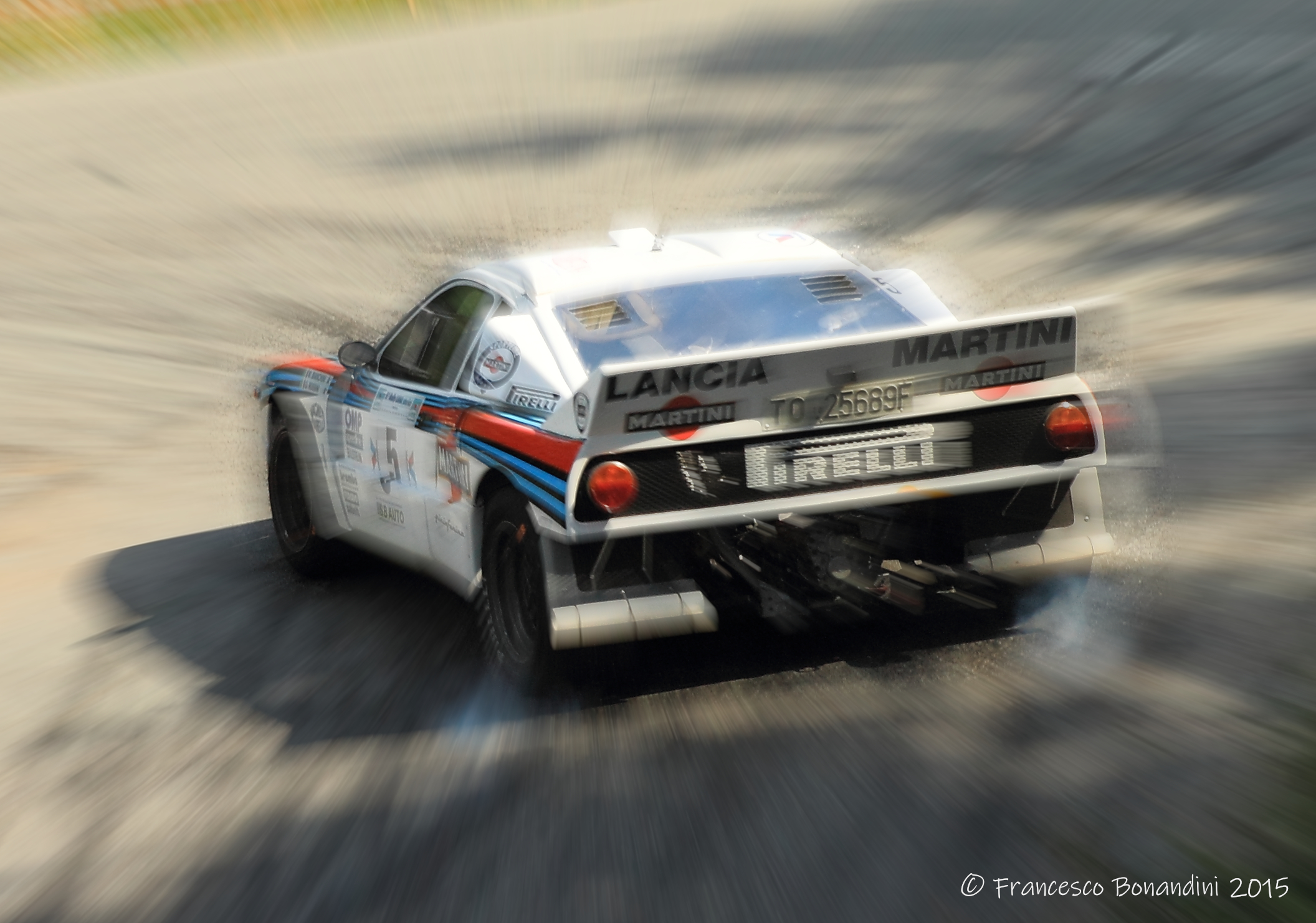 The past that comes back from the Olympus of rallies...