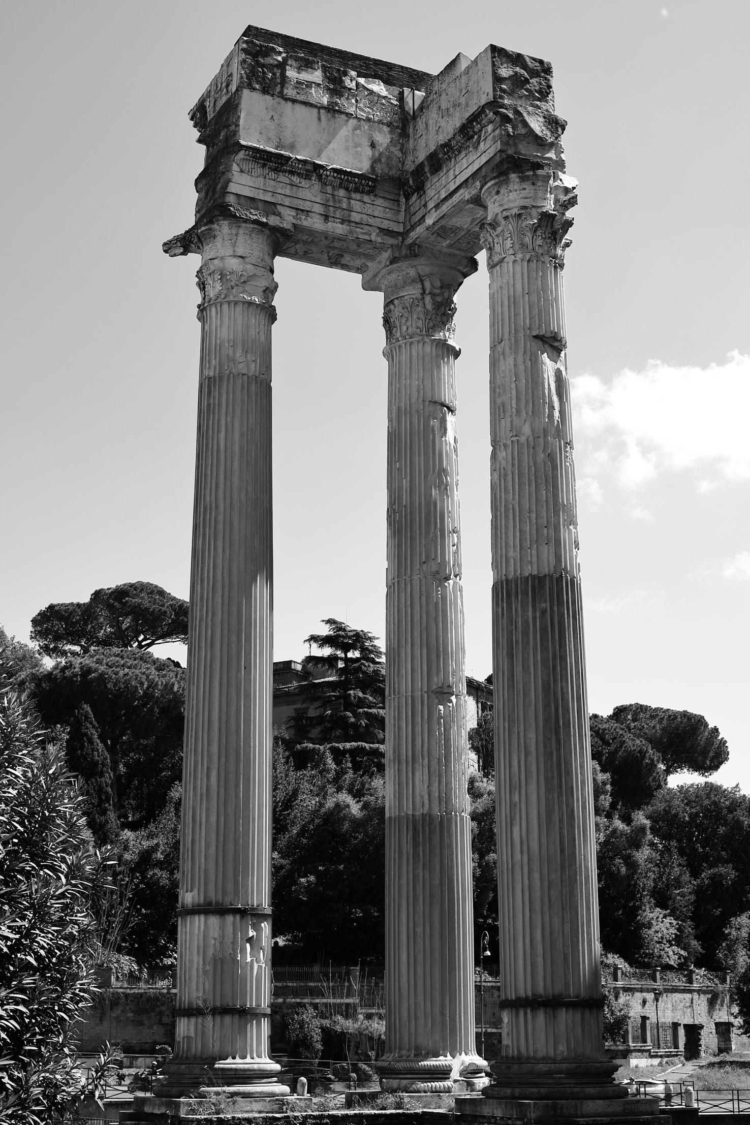 Le tre colonne...