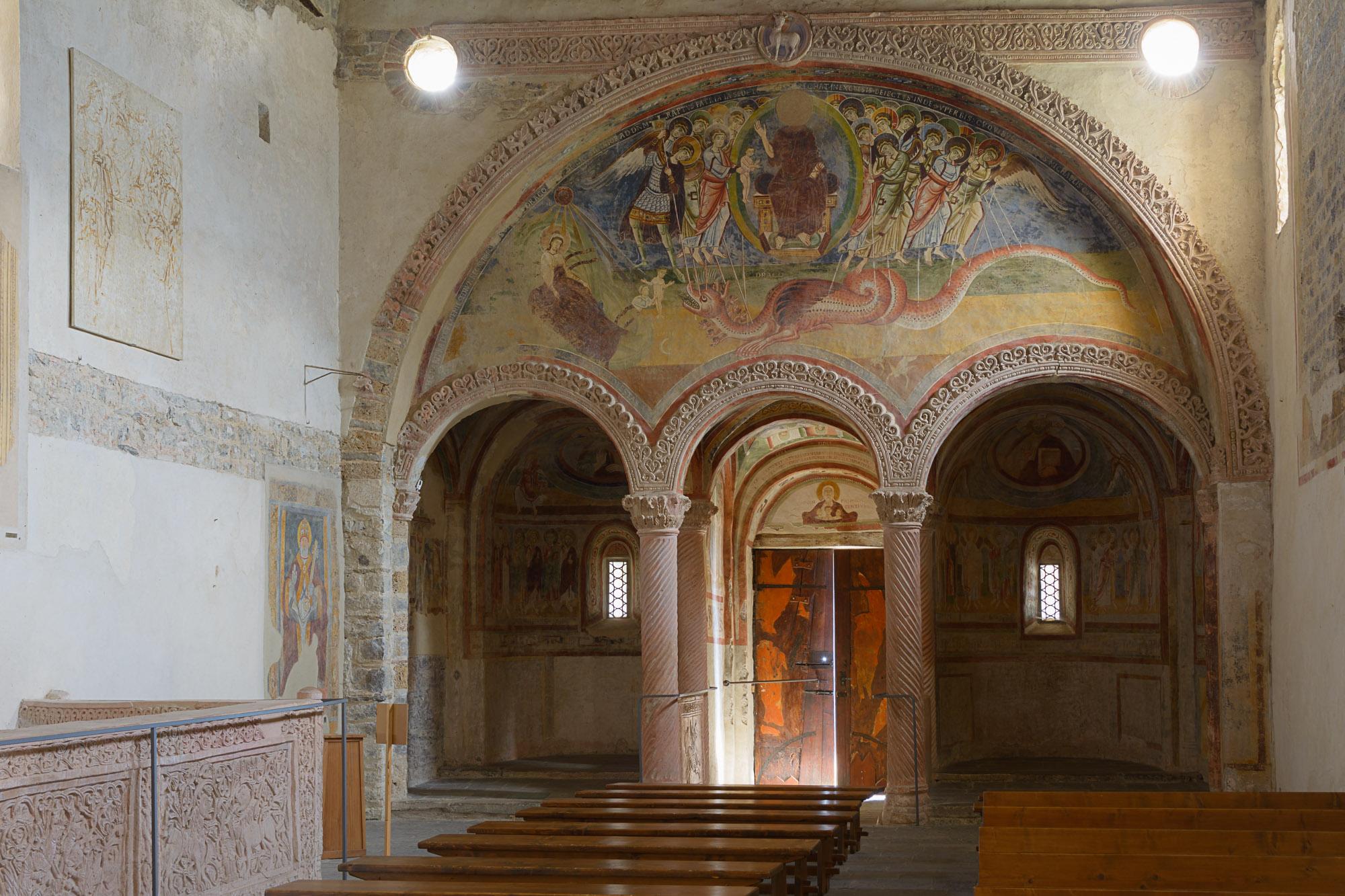Inside Basilica...