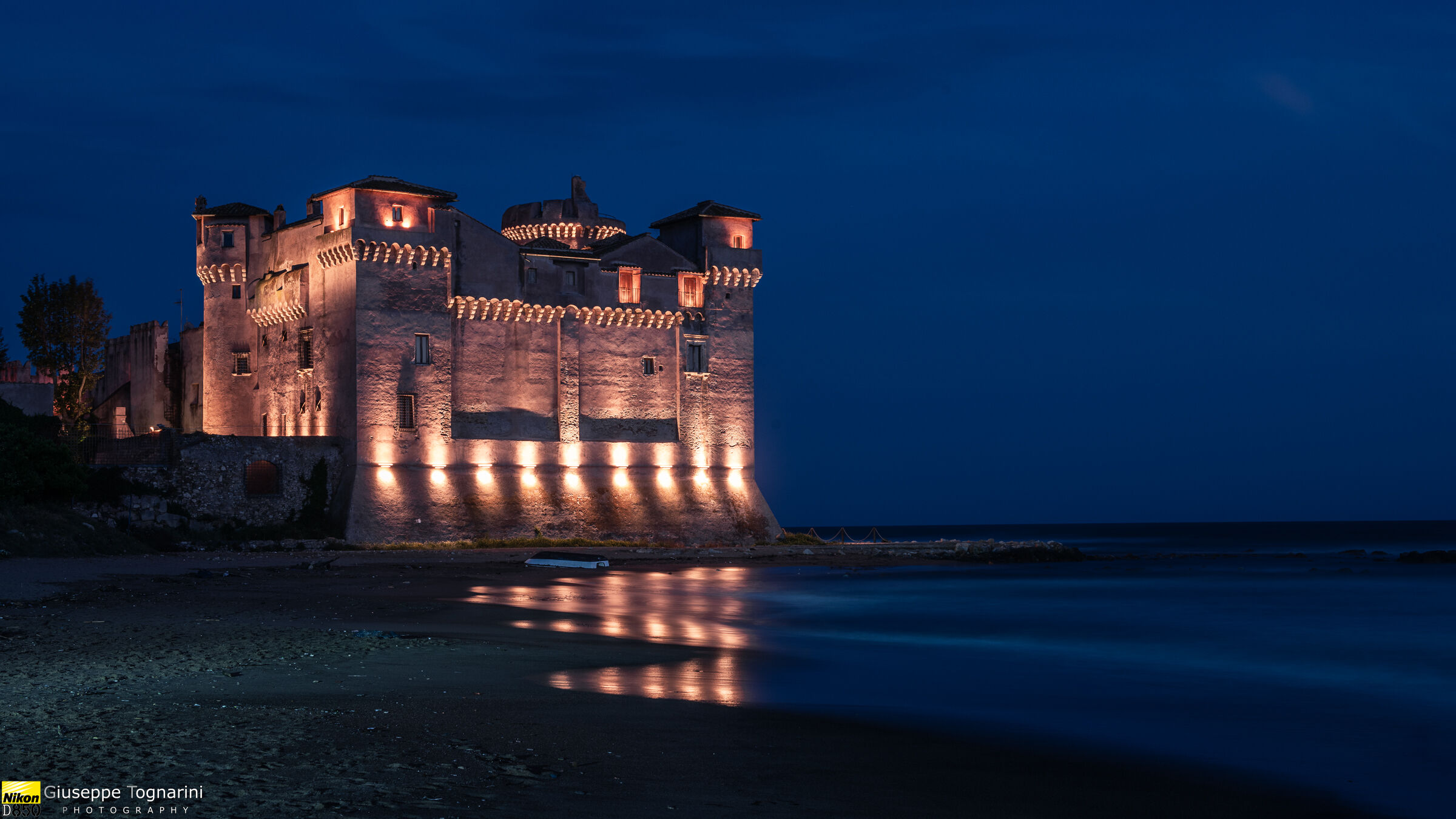The Castle on the Sea...