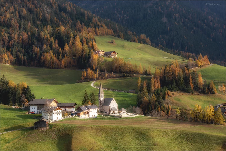 Autumn in Val di Funes...