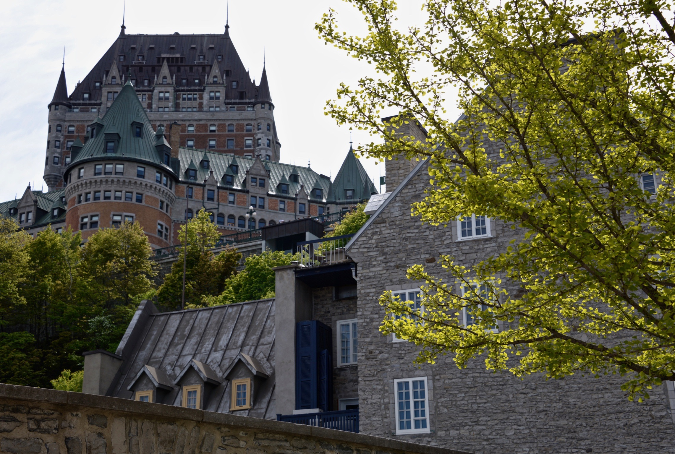 His Majesty Château Frontenac - Quebec City - Canada...