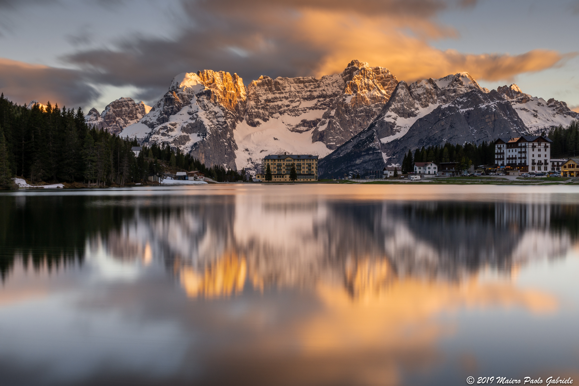 Lake of Misurina...