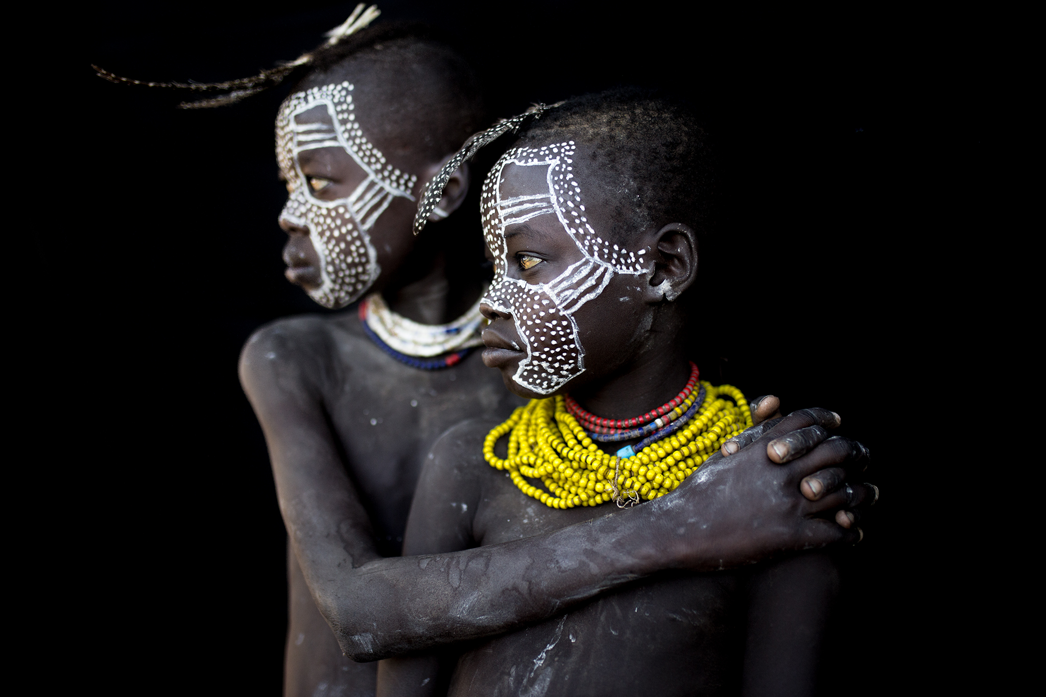 Brothers belonging to the Karo Tribe...