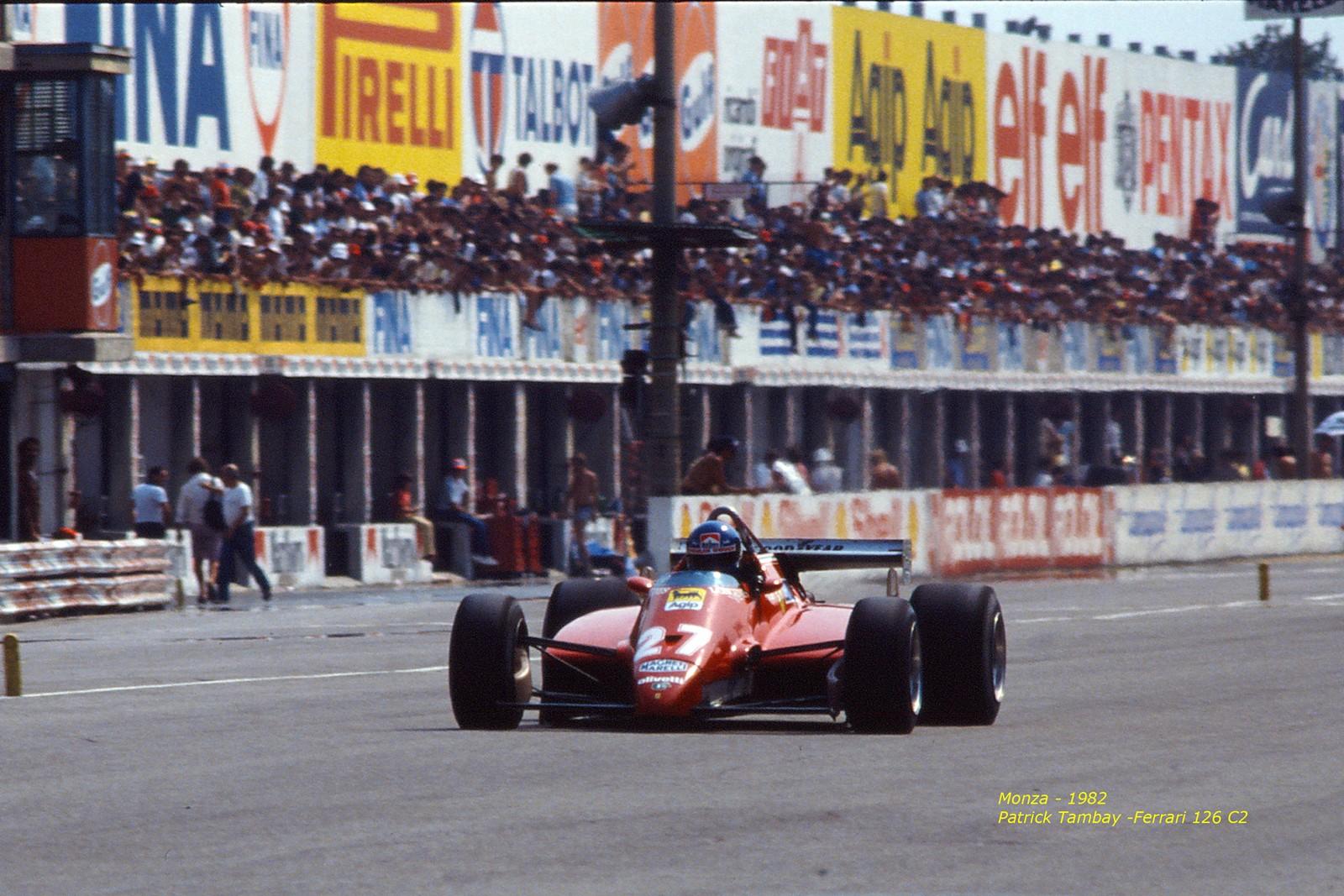 Patrick Tambay - Monza - 1982...
