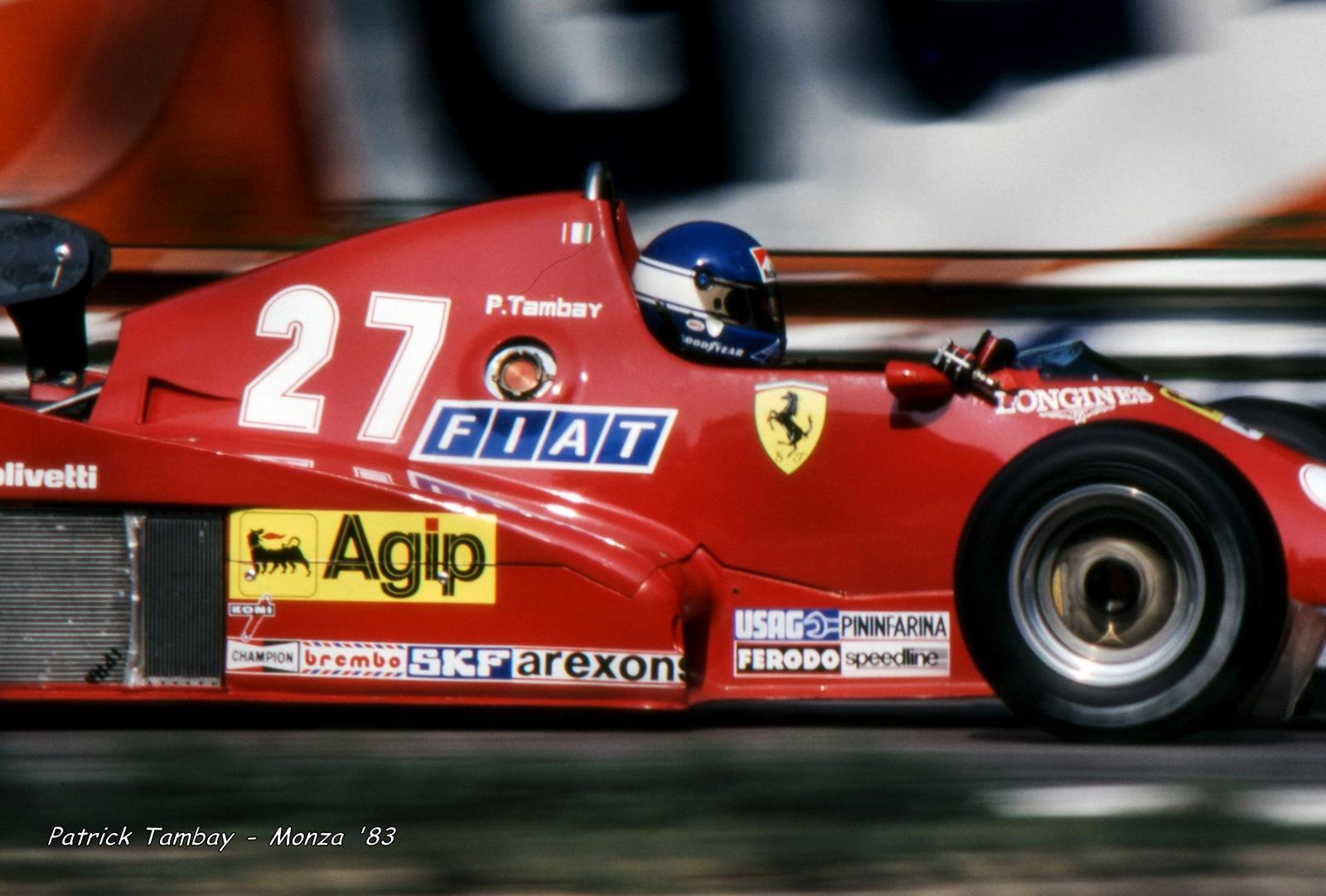 Patrick Tambay - 1983...