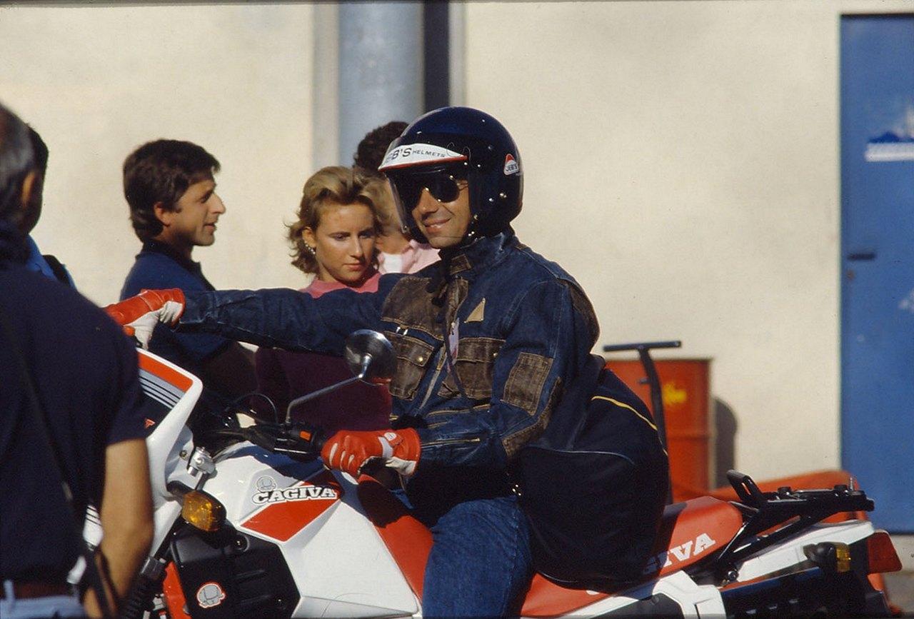 Michael Alboreto...
