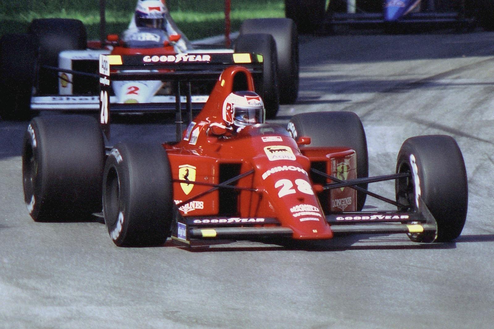 Gehrard Berger - Monza 1989...