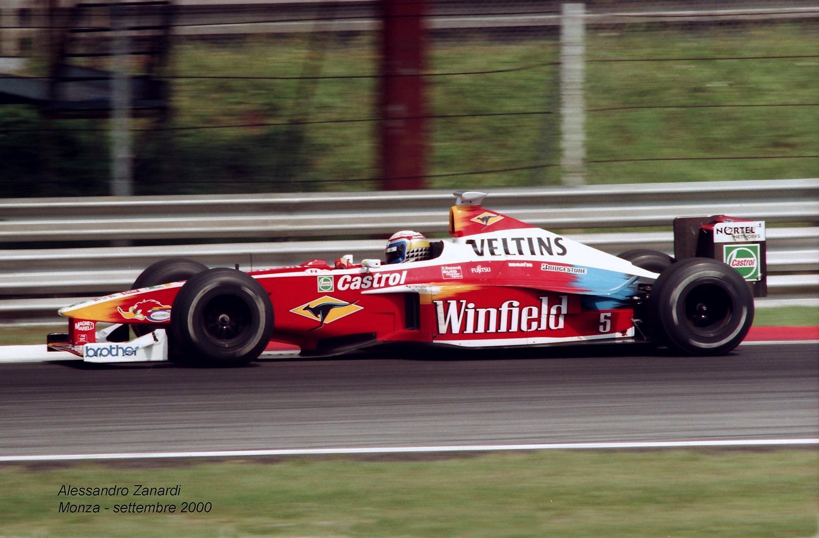 Alessandro Zanardi - Williams FW22...