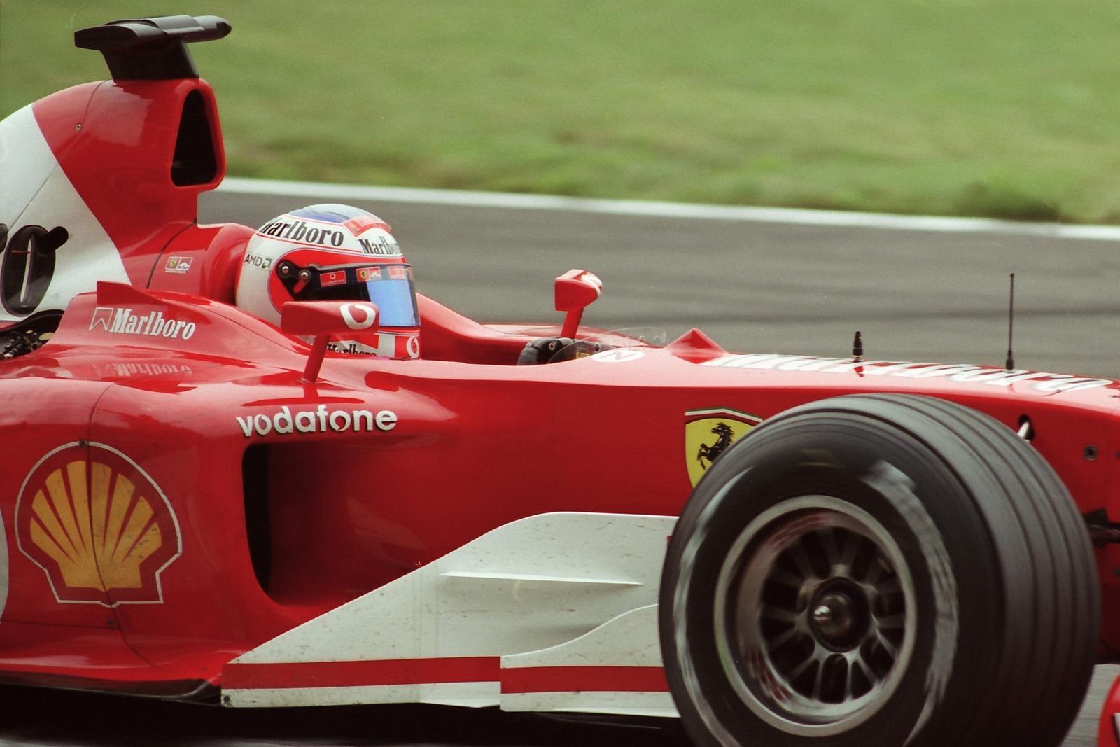 Rubens Barrichello...